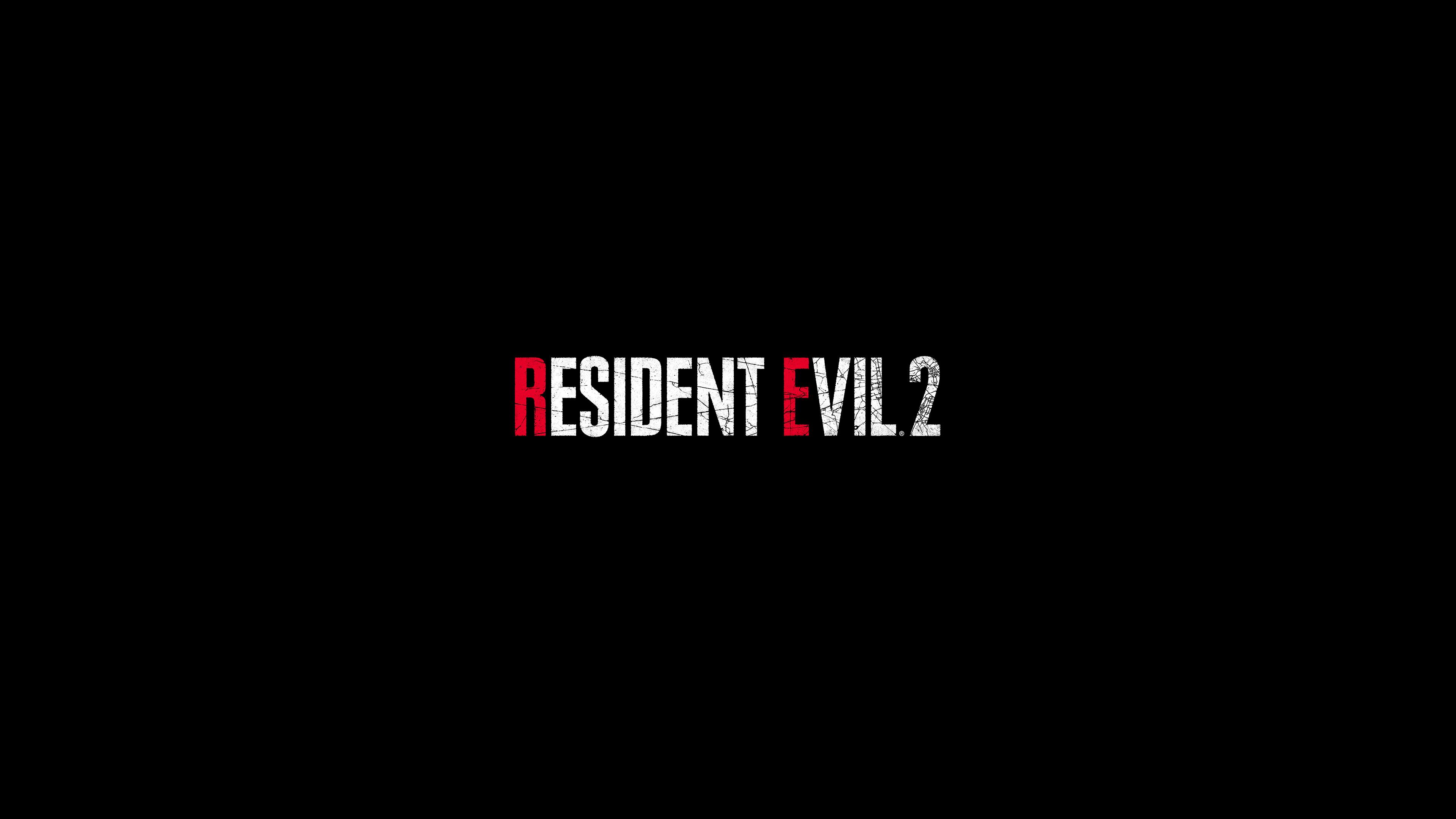 Resident Evil 2 Logo 4k Hd Games 4k Wallpapers Images