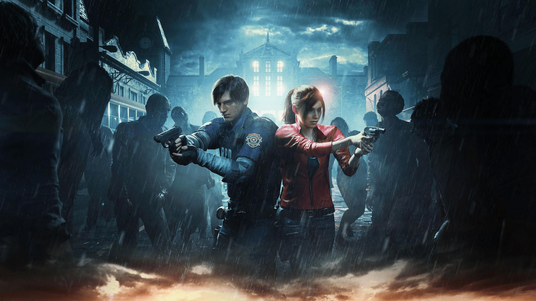Resident Evil 2 Wallpaper: Resident Evil 2 Official Art 2019, HD Games, 4k Wallpapers