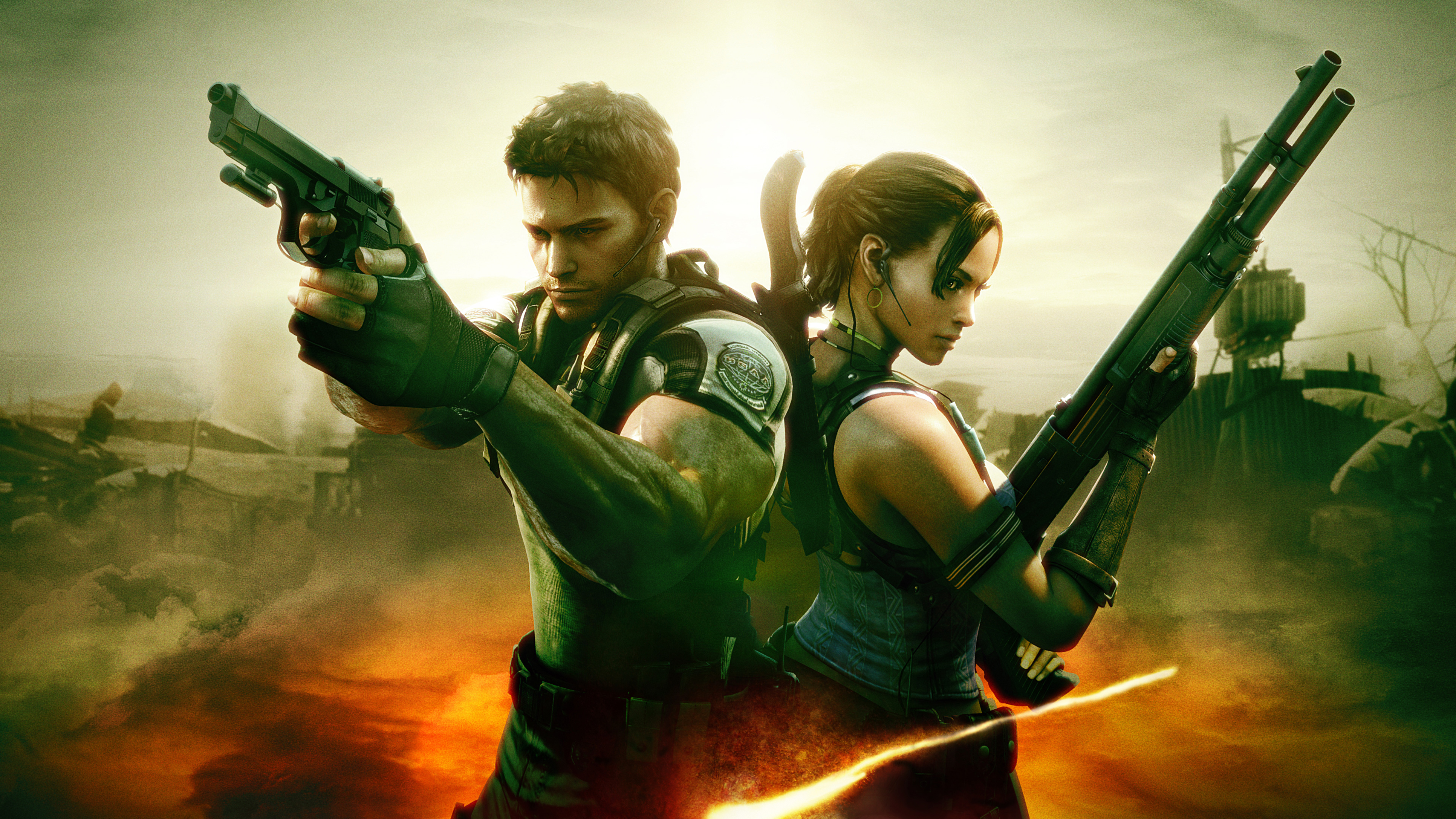 Resident Evil 5 4k, HD Games, 4k Wallpapers, Images ...
