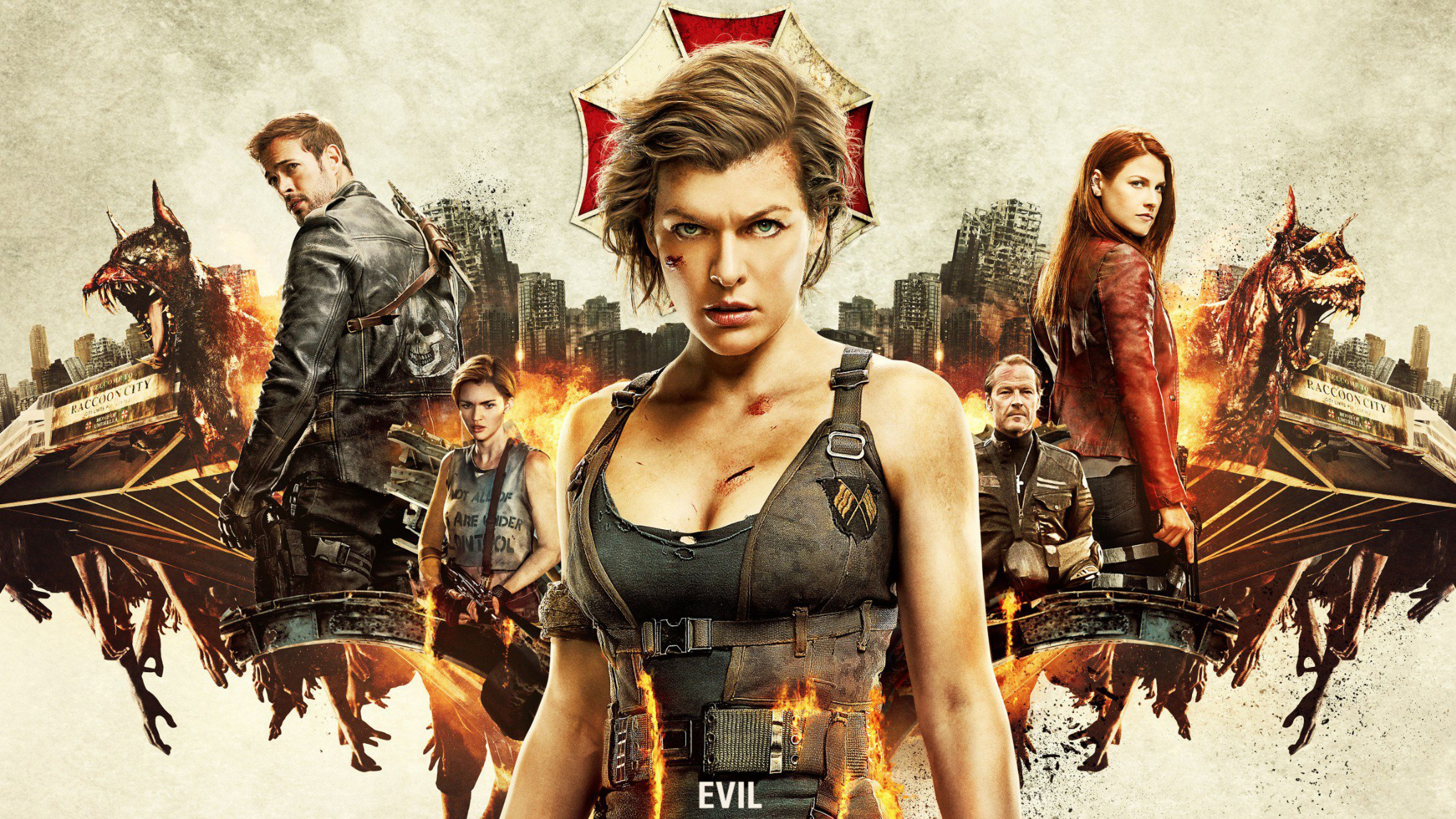 Resident evil the final chapter 4k 2016 movie hd movies 4k wallpapers images backgrounds - Resident evil final chapter 4k ...