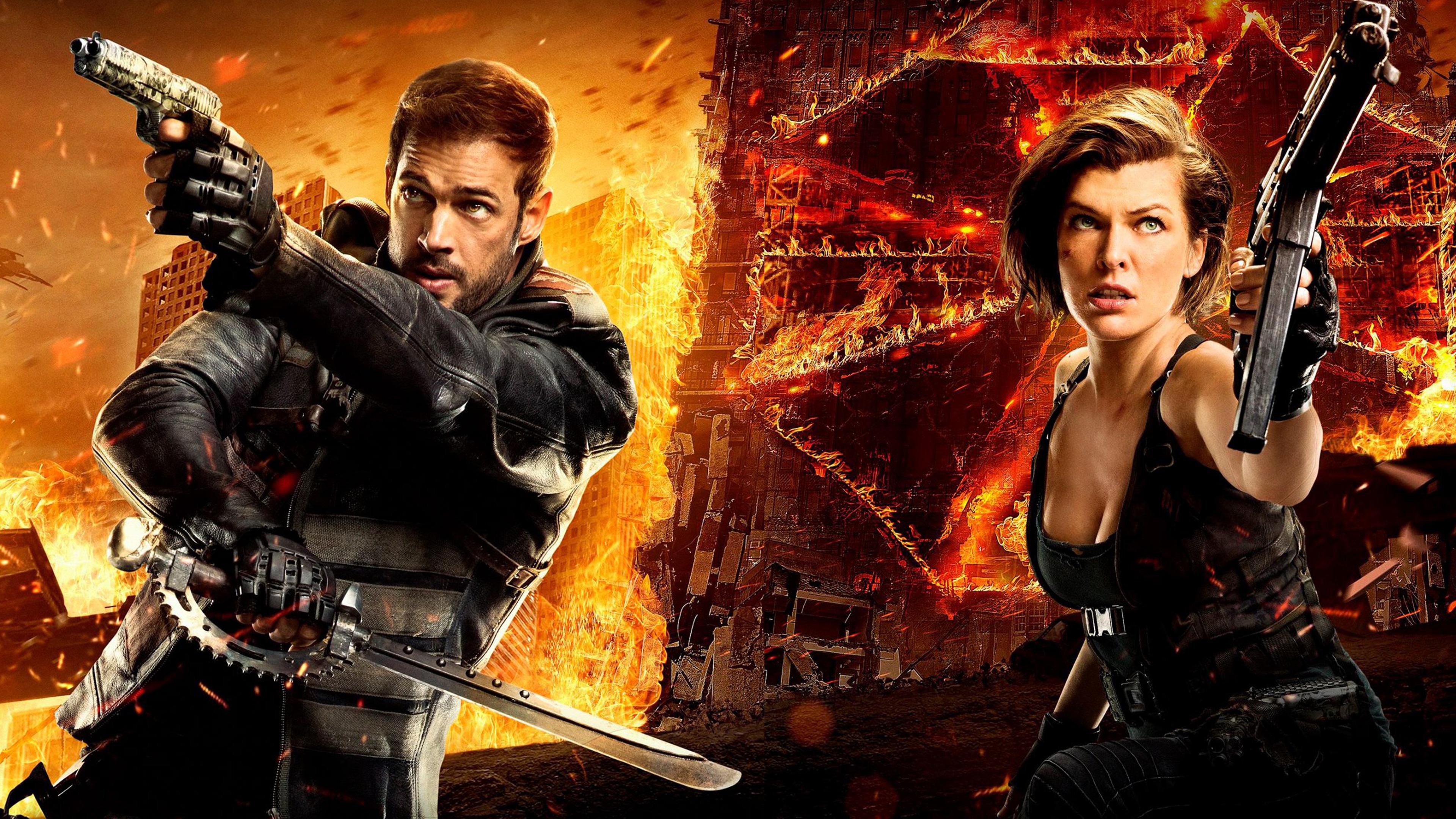 Wallpaper Milla Jovovich Ali Larter Ruby Rose Resident: Resident Evil The Final Chapter New Poster, HD Movies, 4k