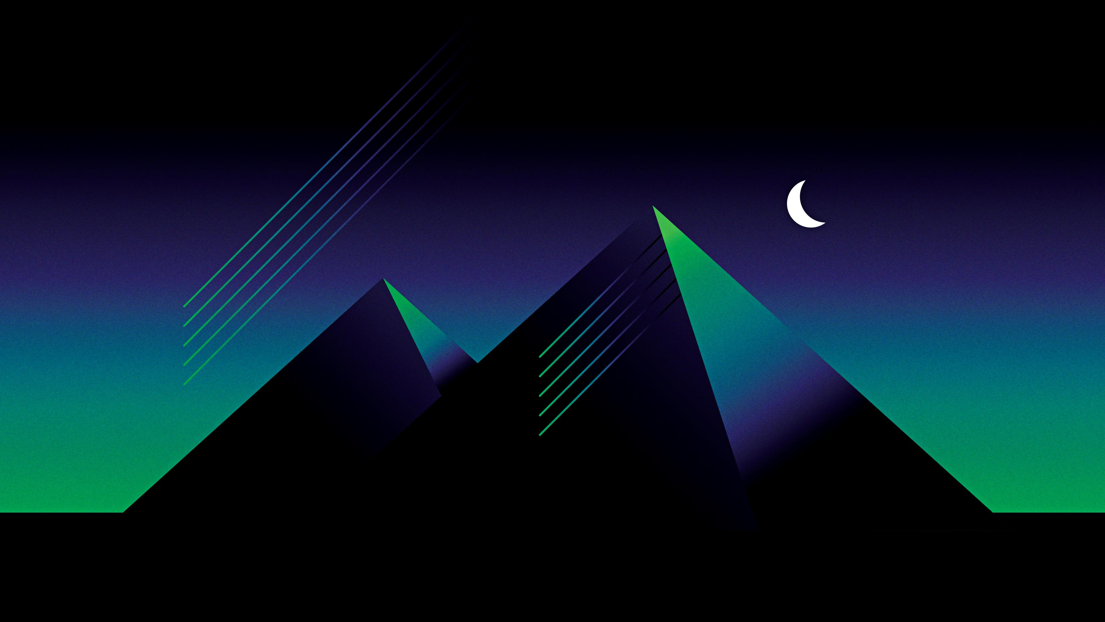Retro Pyramid 4k Hd Artist 4k Wallpapers Images