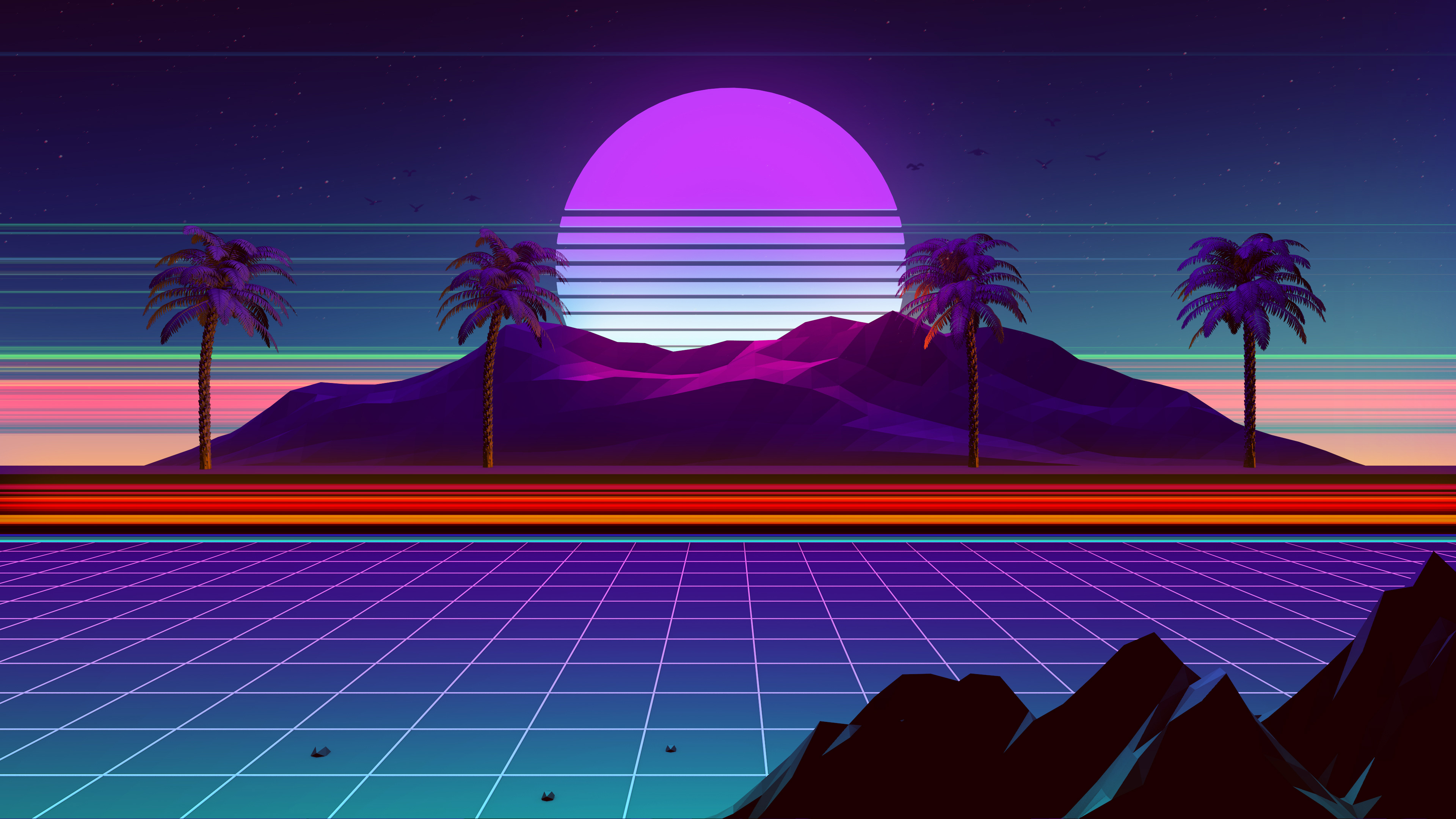 Retro Wave 4k, HD Abstract, 4k Wallpapers, Images ...