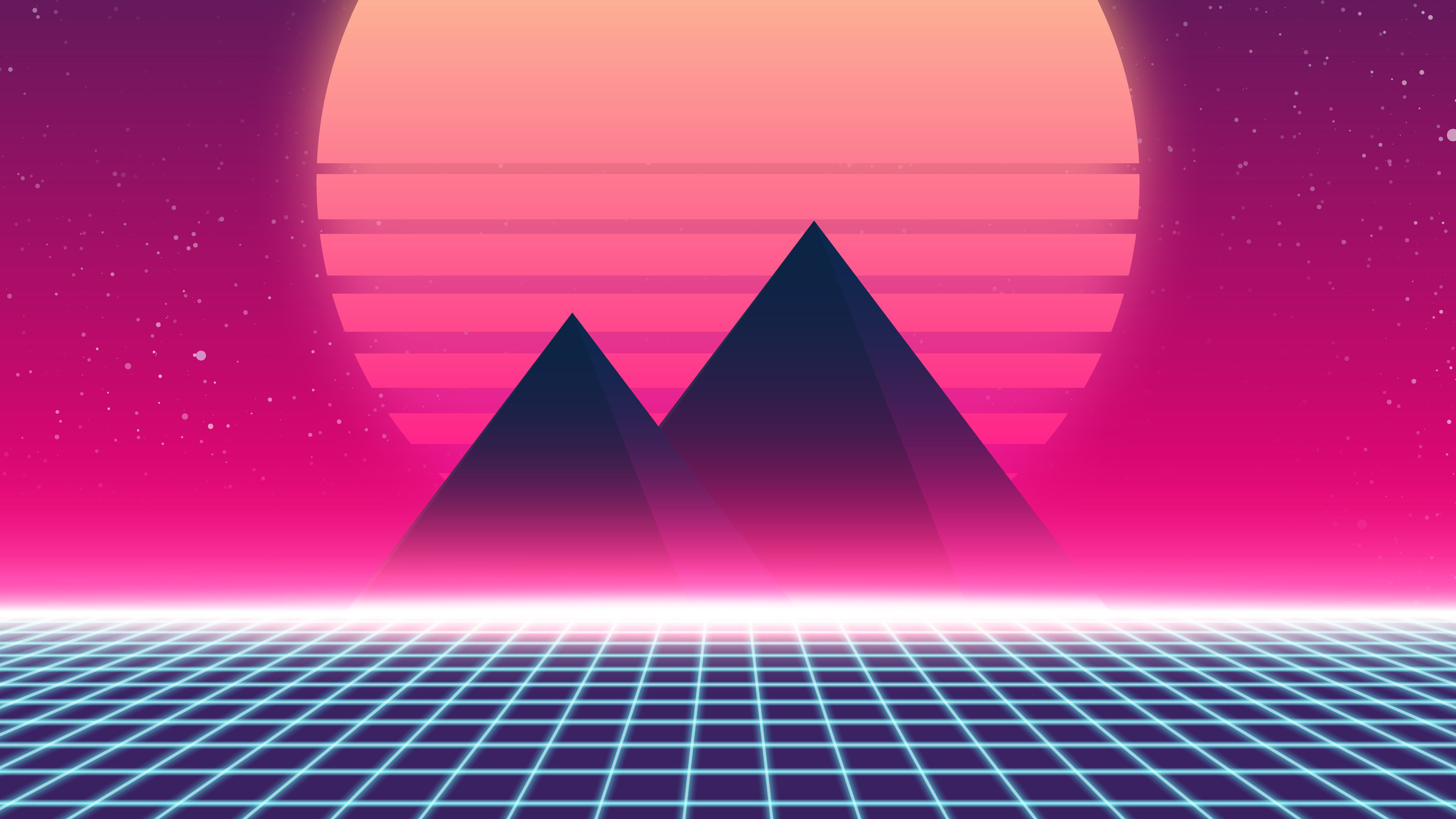 90 S Walls Google Search: 1360x768 Retrowave 90s Laptop HD HD 4k Wallpapers, Images