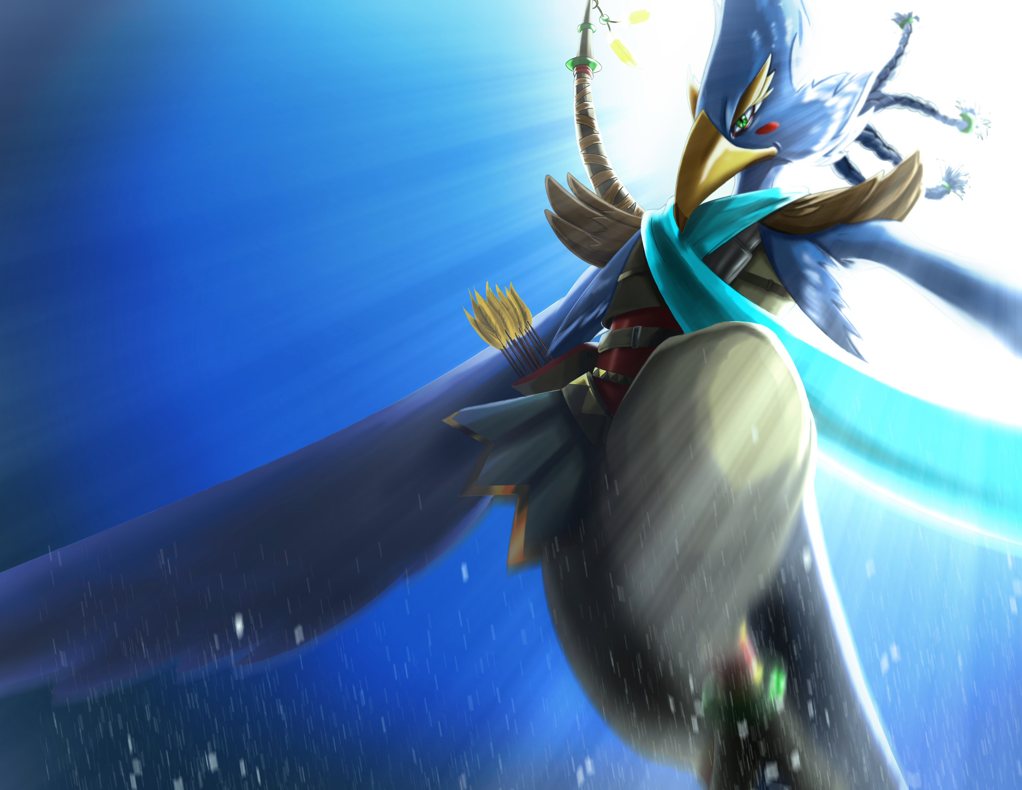 2560x1440 Revali The Legend Of Zelda Breath Of The Wild 1440p