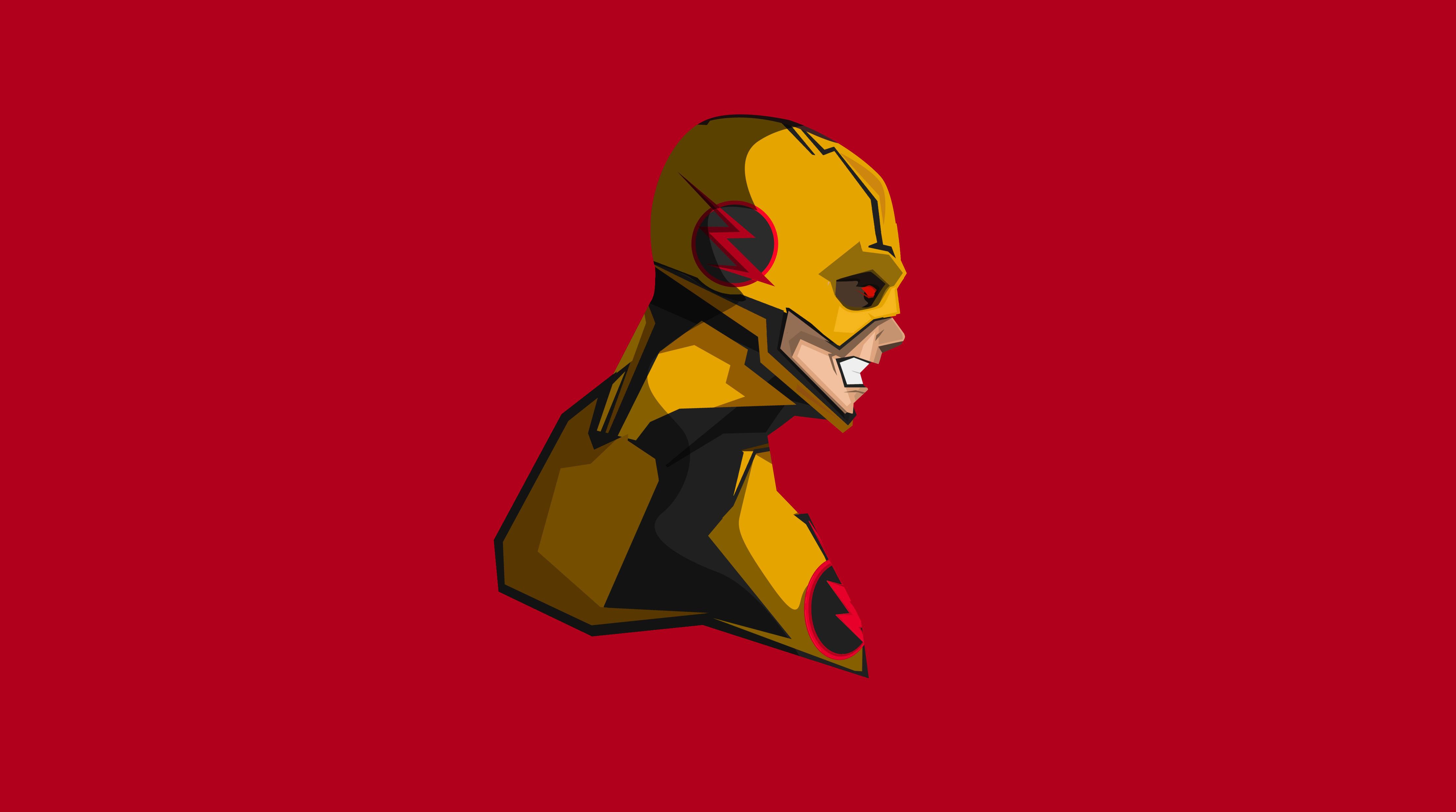 Reverse Flash 4k Minimalism Hd Superheroes 4k Wallpapers Images