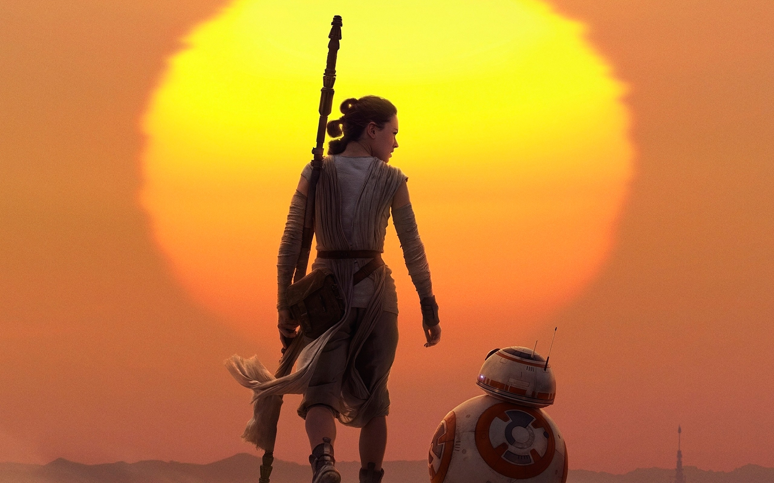 4K Rey (1) - HD Star Wars Wallpaper Backgrounds