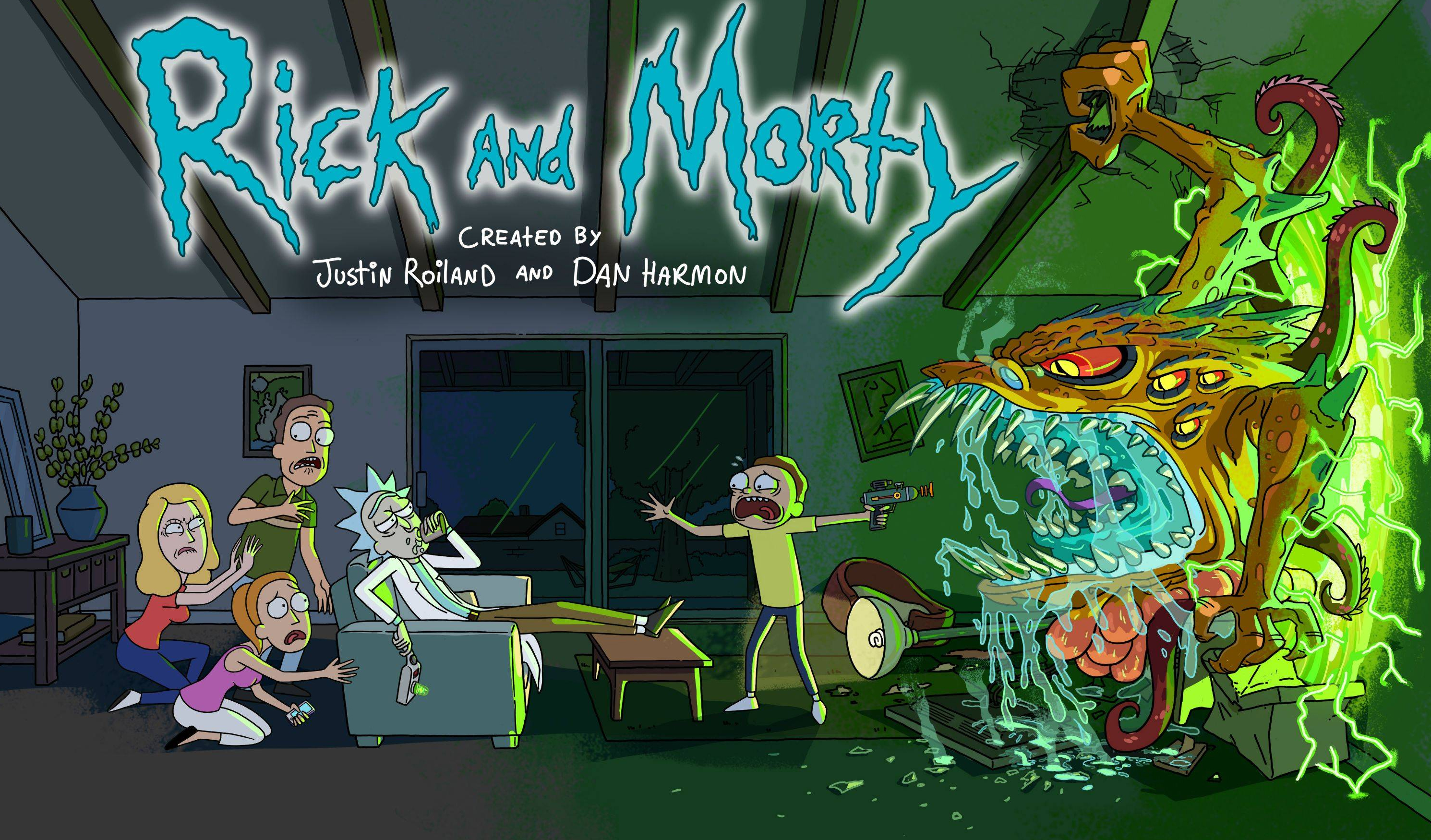 1366x768 Rick And Morty 2017 1366x768 Resolution HD 4k ...