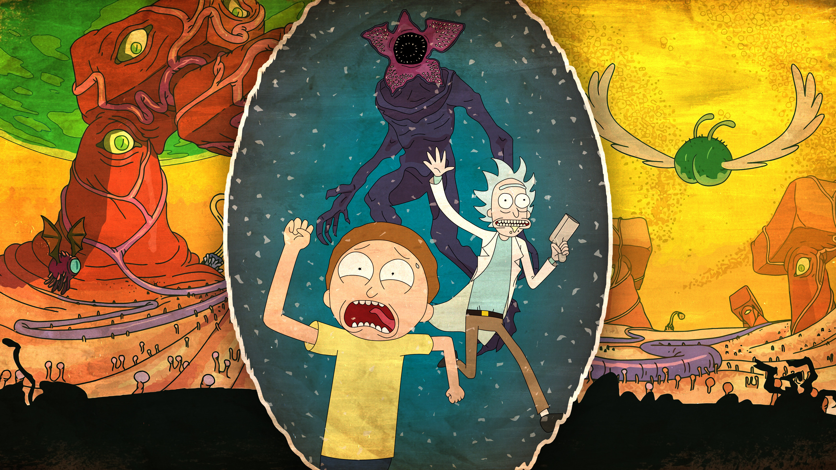 Rick And Morty 4k Hd Cartoons 4k Wallpapers Images Backgrounds