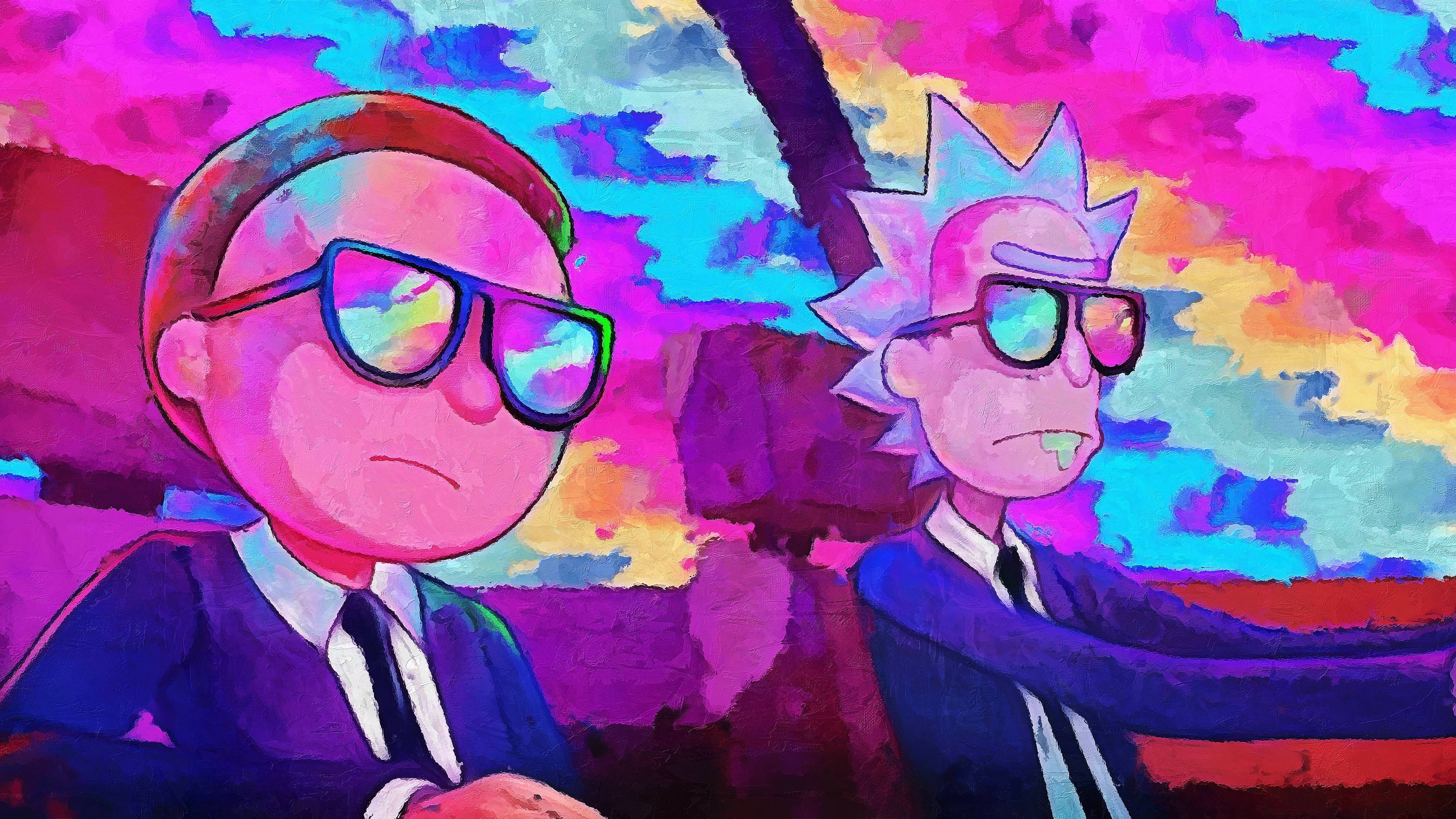 2048x1152 Rick And Morty 5k Artwork 2048x1152 Resolution