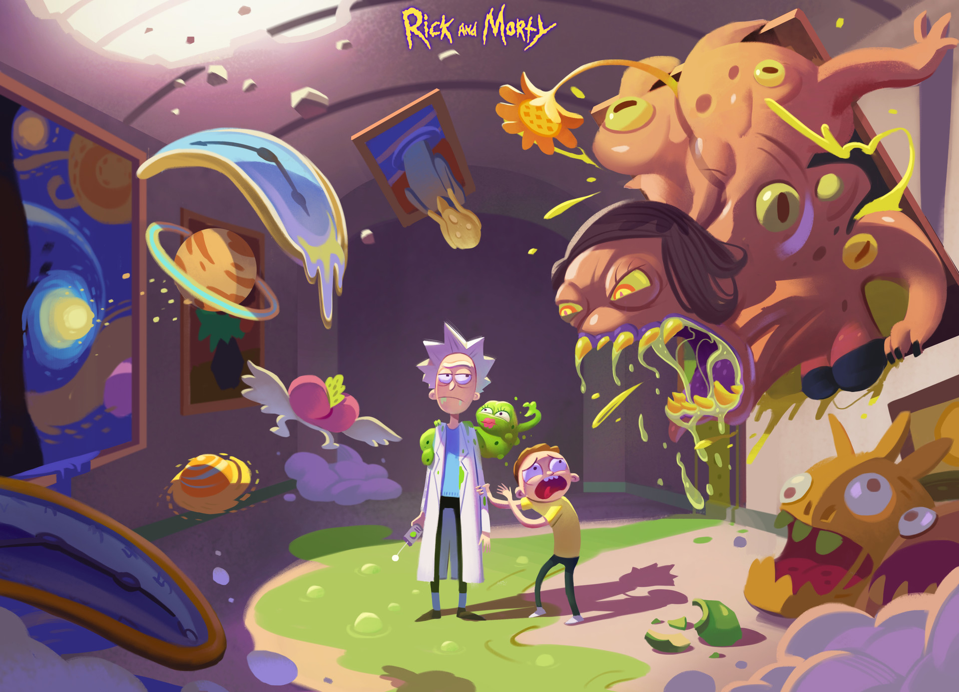 Rick And Morty Hd Art, HD Tv Shows, 4k Wallpapers, Images ...