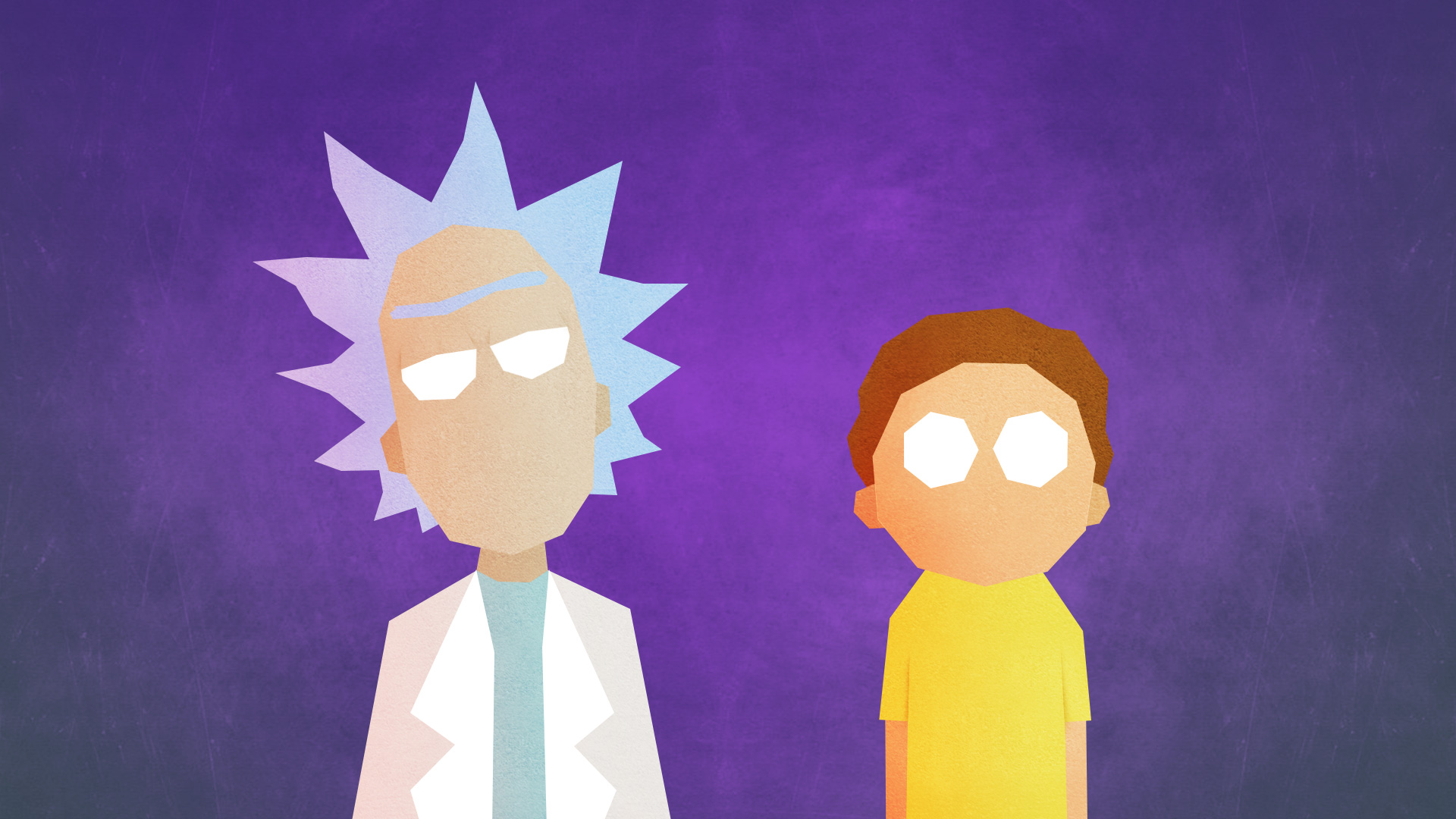 rick and morty minimalist hd tv shows 4k wallpapers images