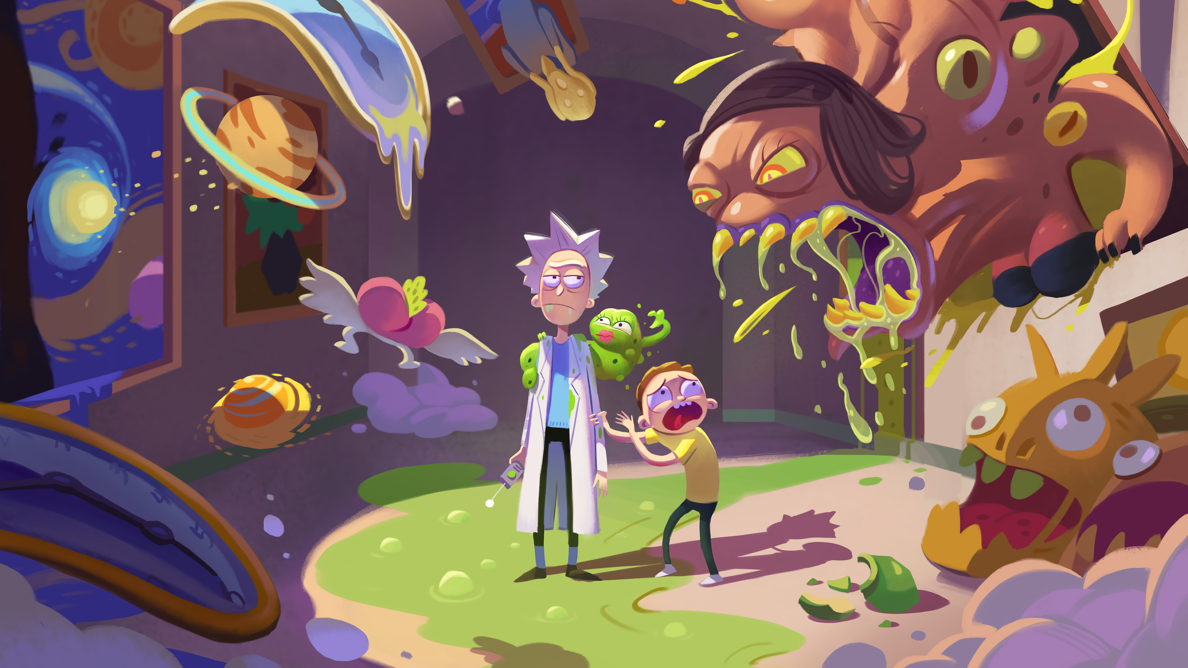 Rick And Morty Season 4 Hd Tv Shows 4k Wallpapers Images