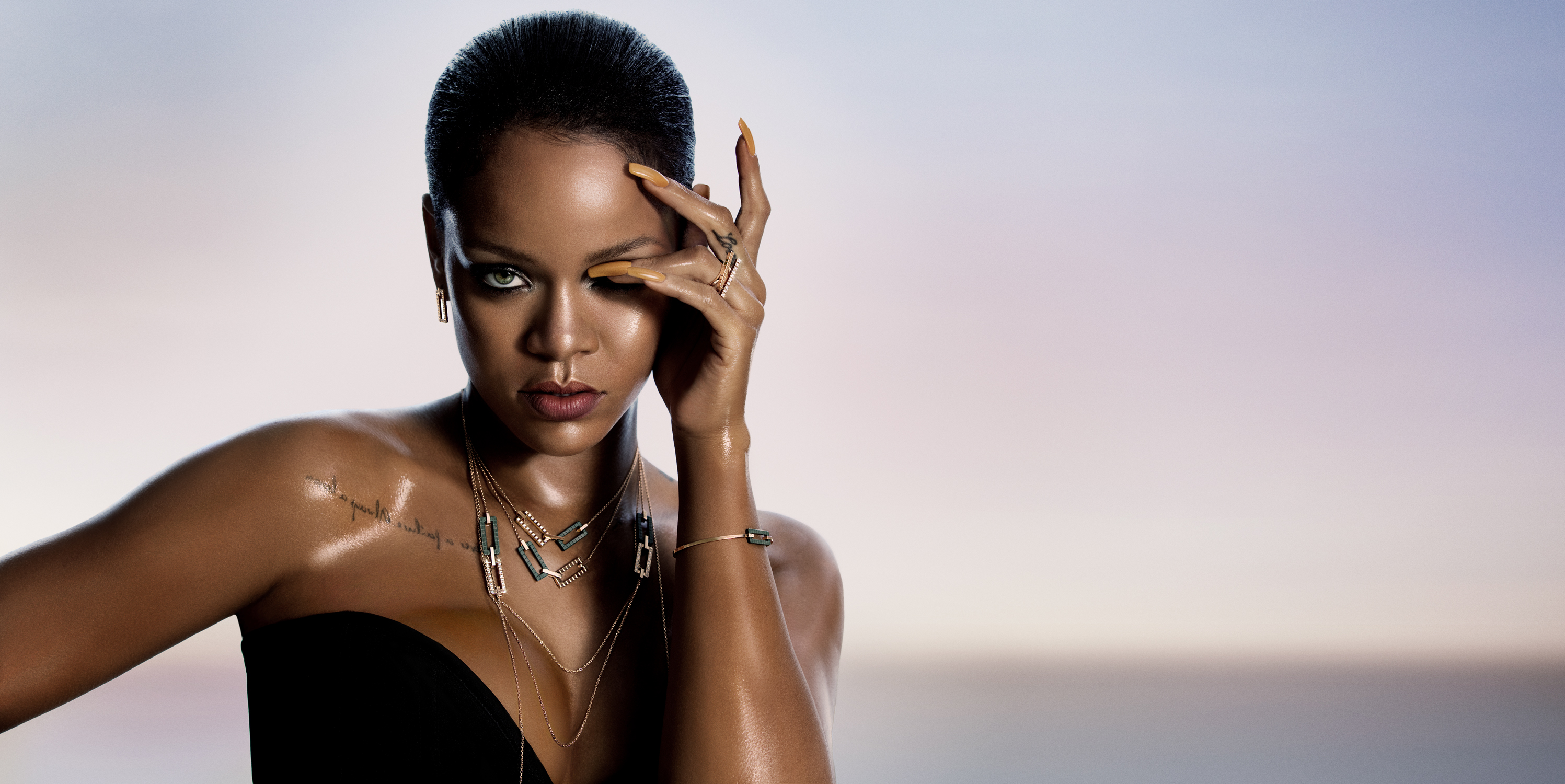 rihanna joaillerie collection 2017, hd music, 4k wallpapers, images