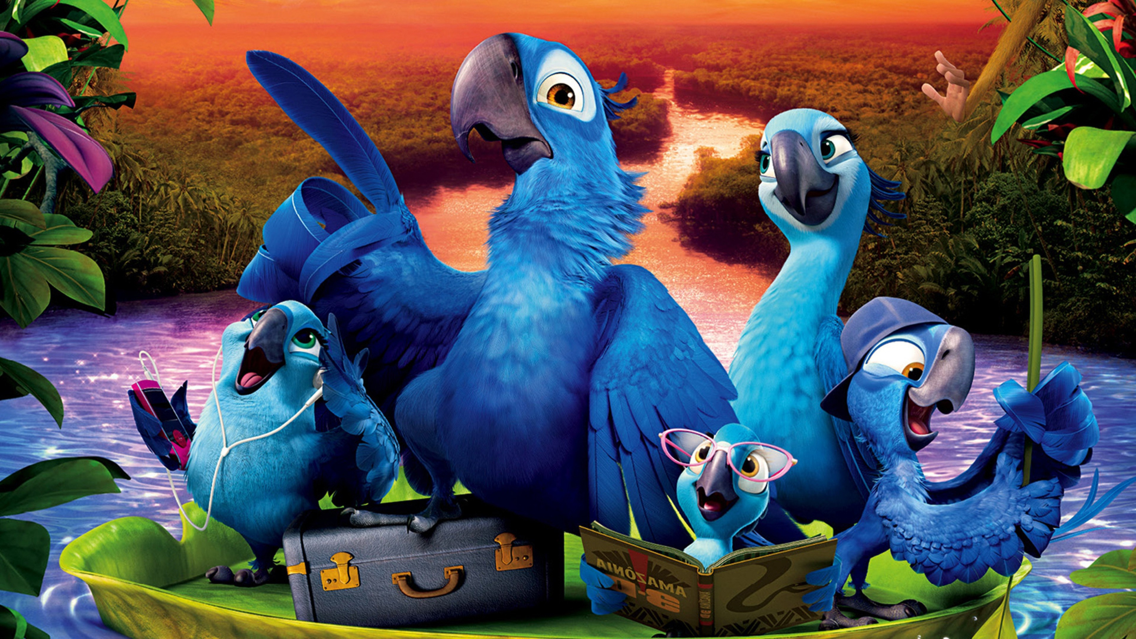 Rio 2 movie hd movies 4k wallpapers images backgrounds photos rio 2 movie voltagebd Images