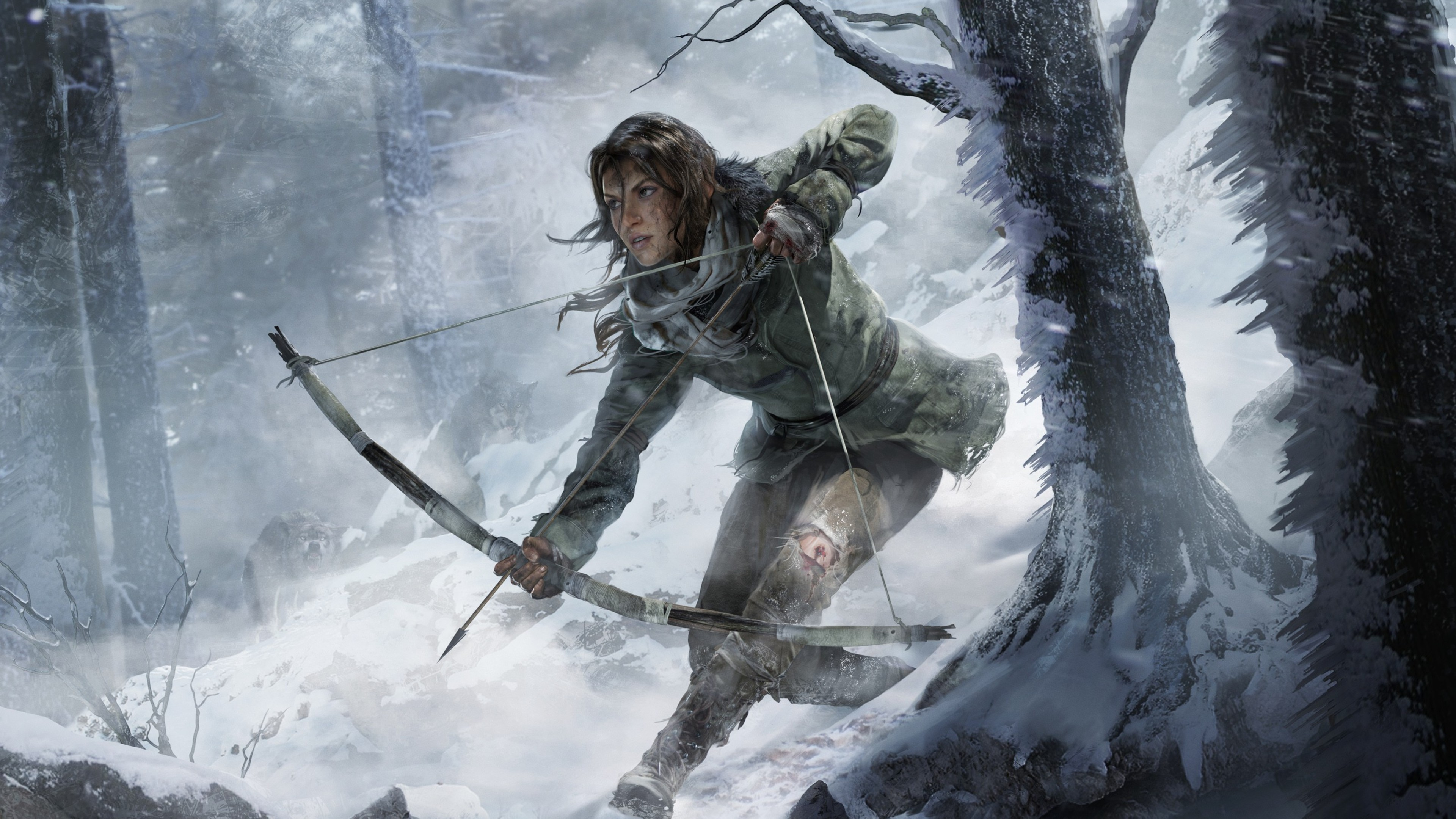 Rise of the tomb raider game 2016 hd games 4k wallpapers - Rise of the tomb raider 4k wallpaper ...