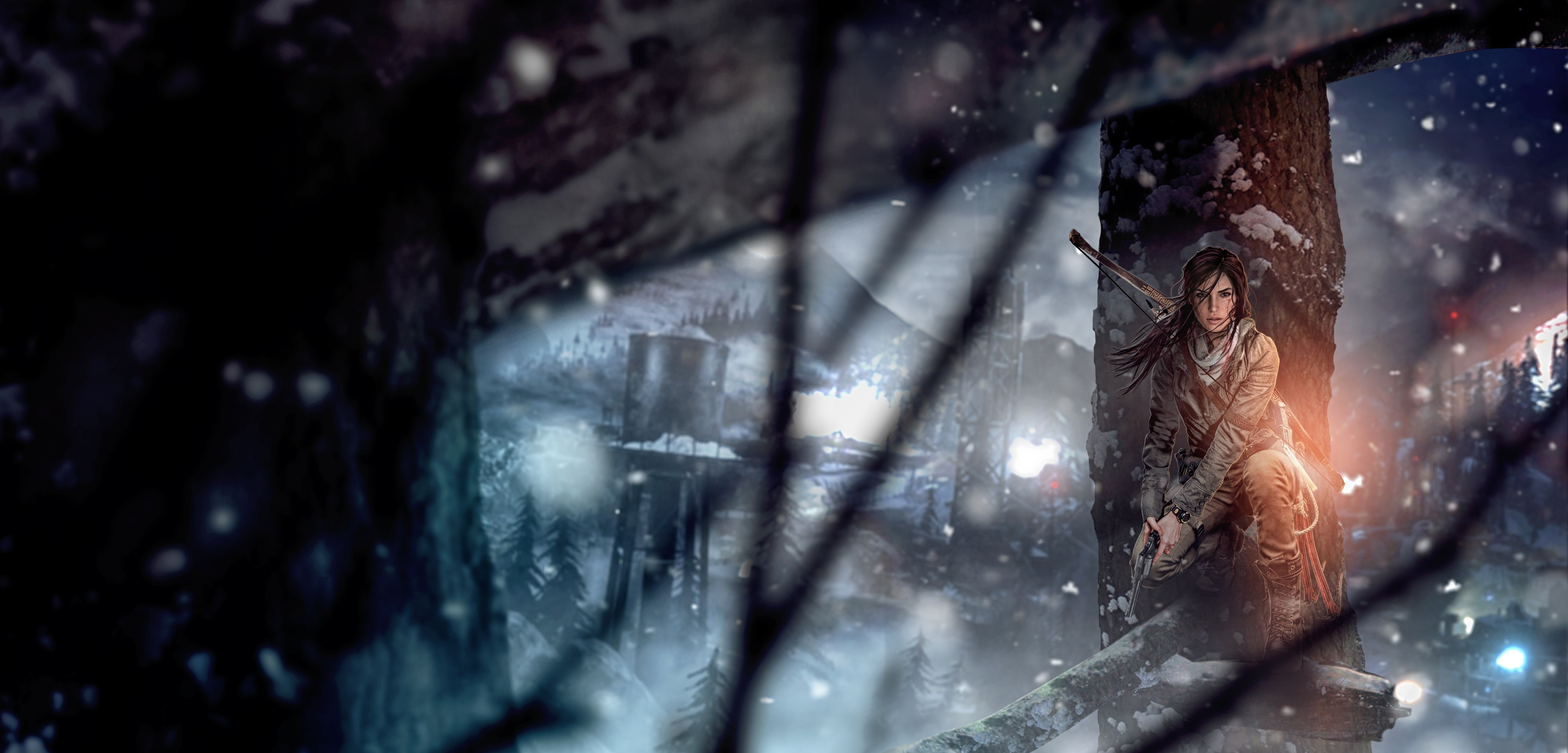 Rise Of The Tomb Raider Lara Croft 1600x900 Resolution