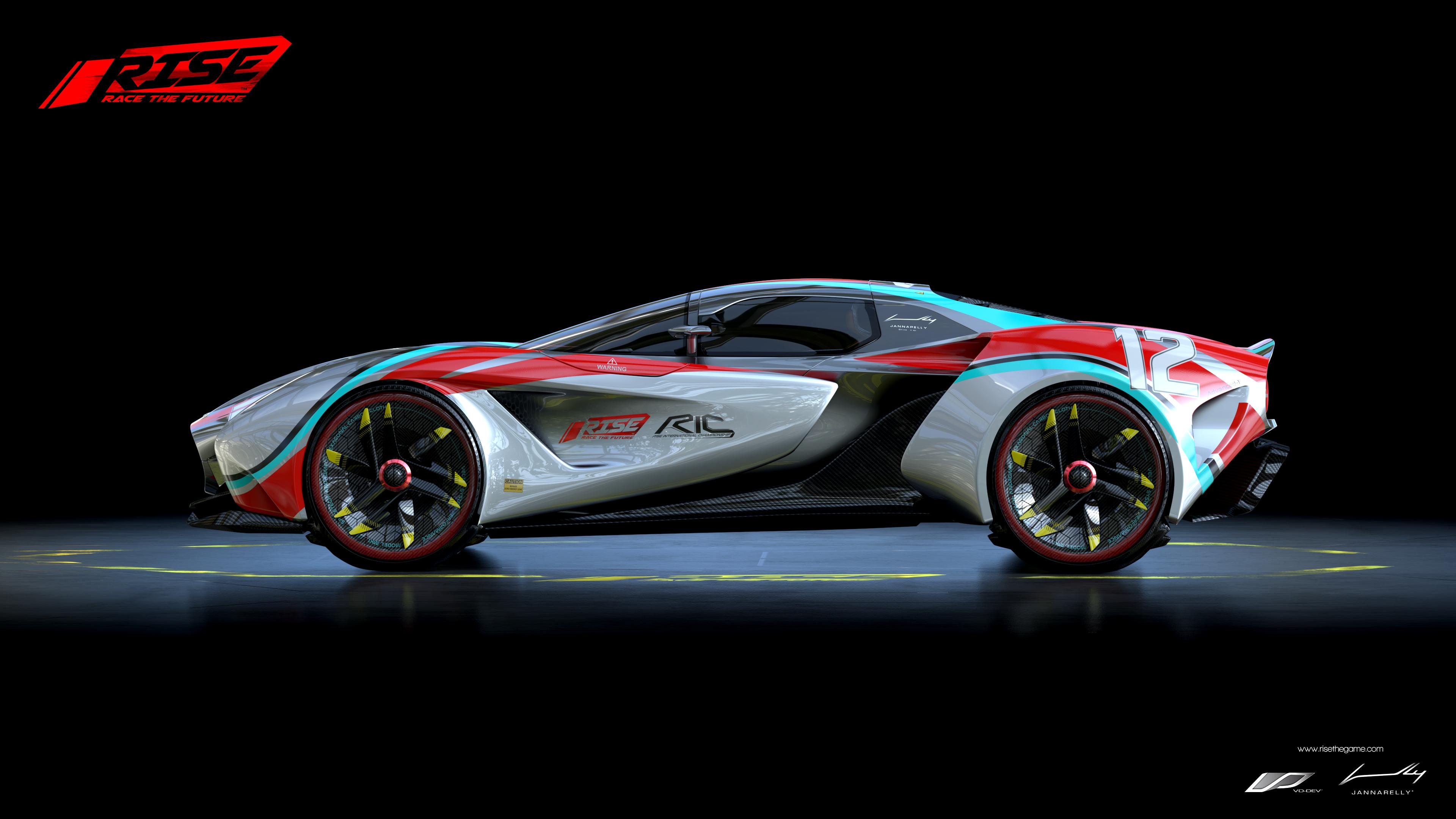 Racing Car Games Hd Wallpaper: Rise Race The Future Racing Game, HD Games, 4k Wallpapers