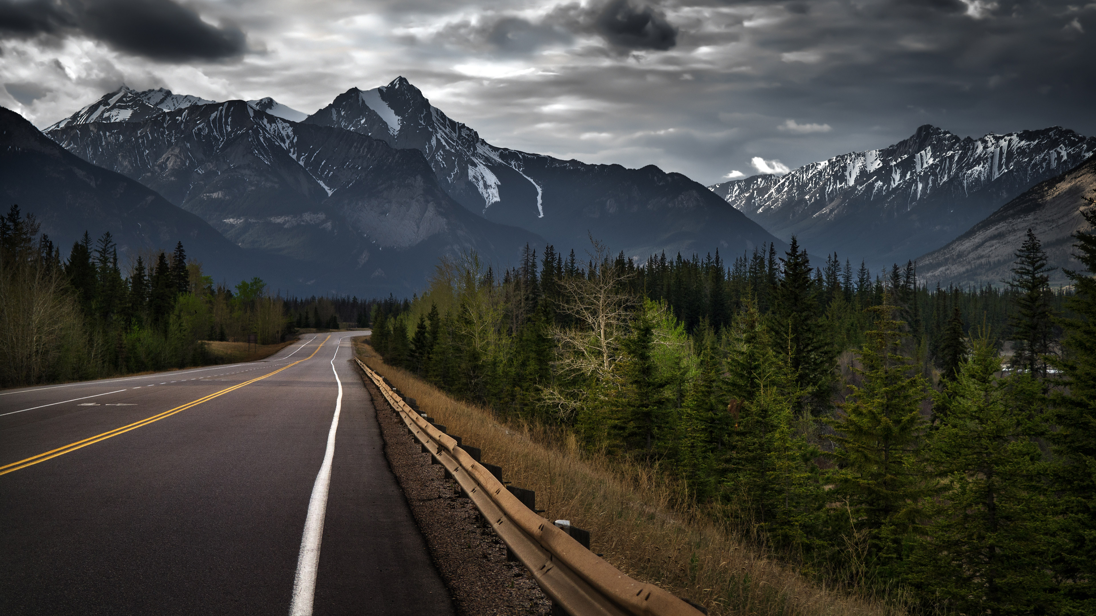 Road To Mountains HD Nature 4k Wallpapers Images Backgrounds