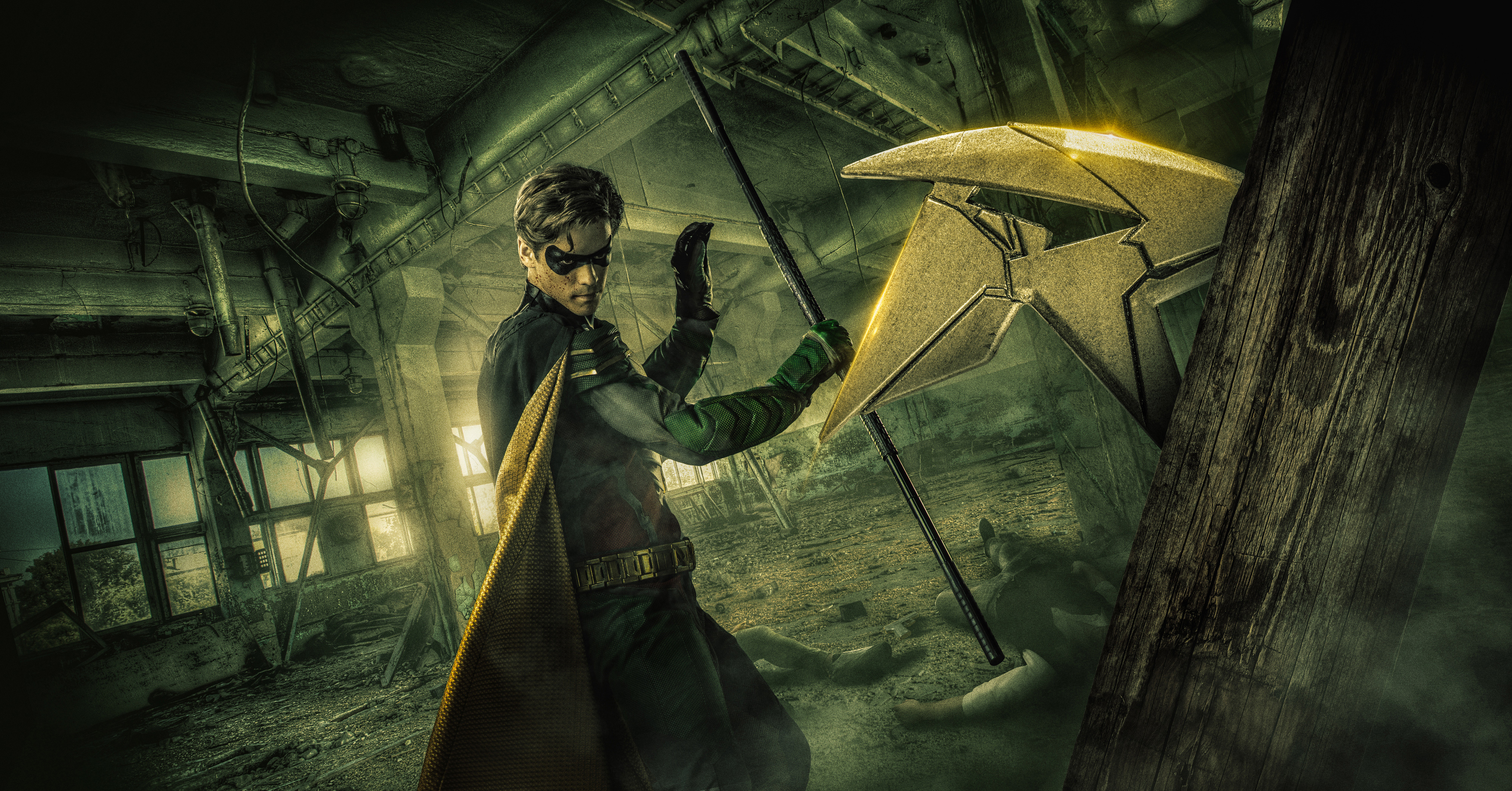 Robin in titans 4k 2018 hd tv shows 4k wallpapers - Tv series wallpaper 4k ...