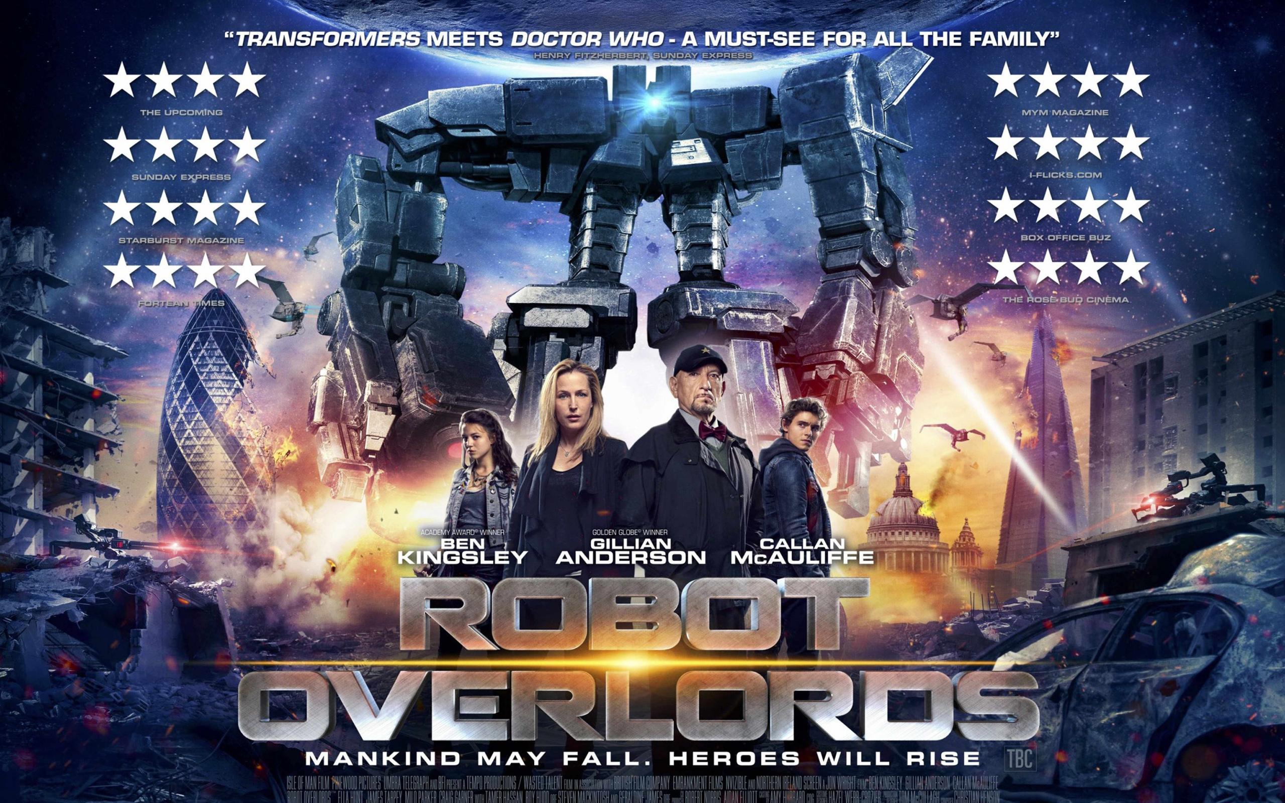 Robot Overlords Movie