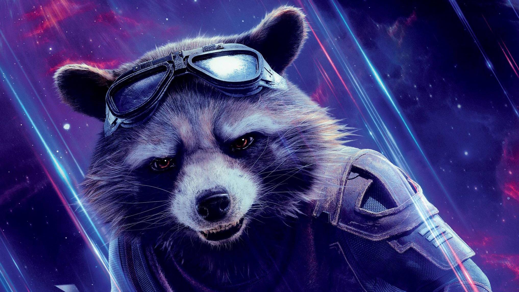 Rocket raccoon in avengers endgame hd movies 4k - Rocket raccoon phone wallpaper ...