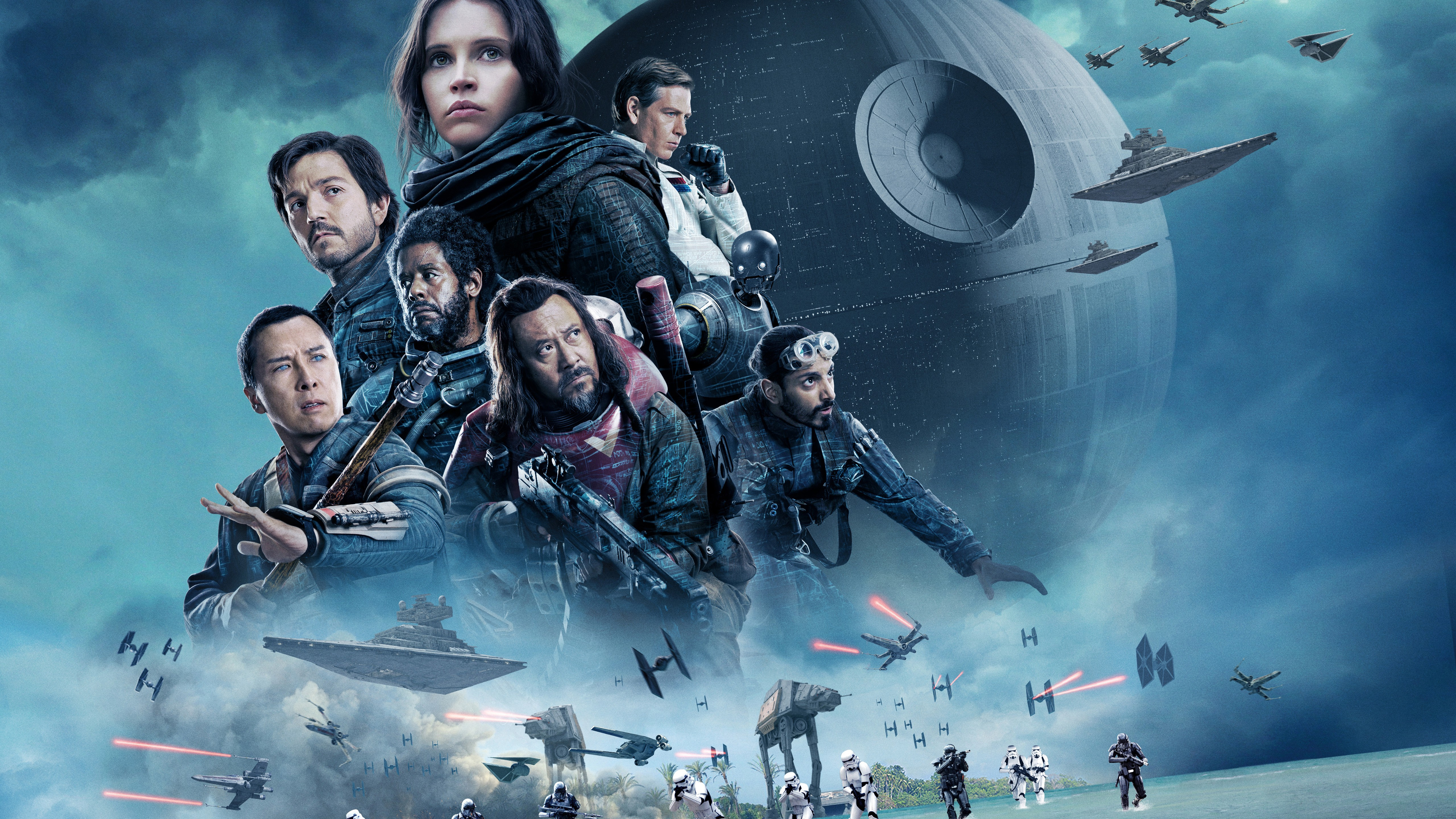 Rogue One A Star Wars Story 5k 2017