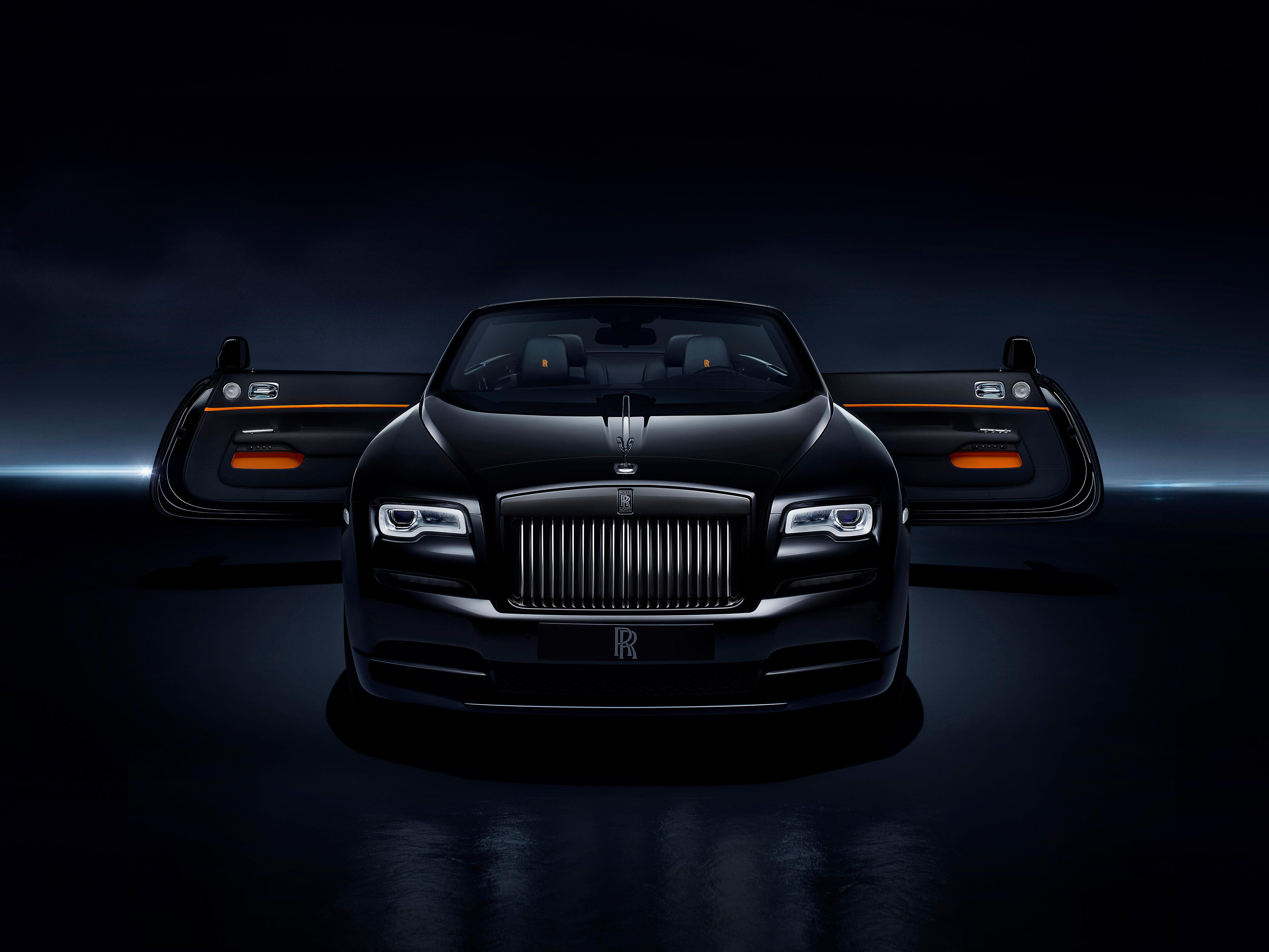 Rolls Royce Dawn Black Badge Interior 4k Hd Cars 4k Wallpapers