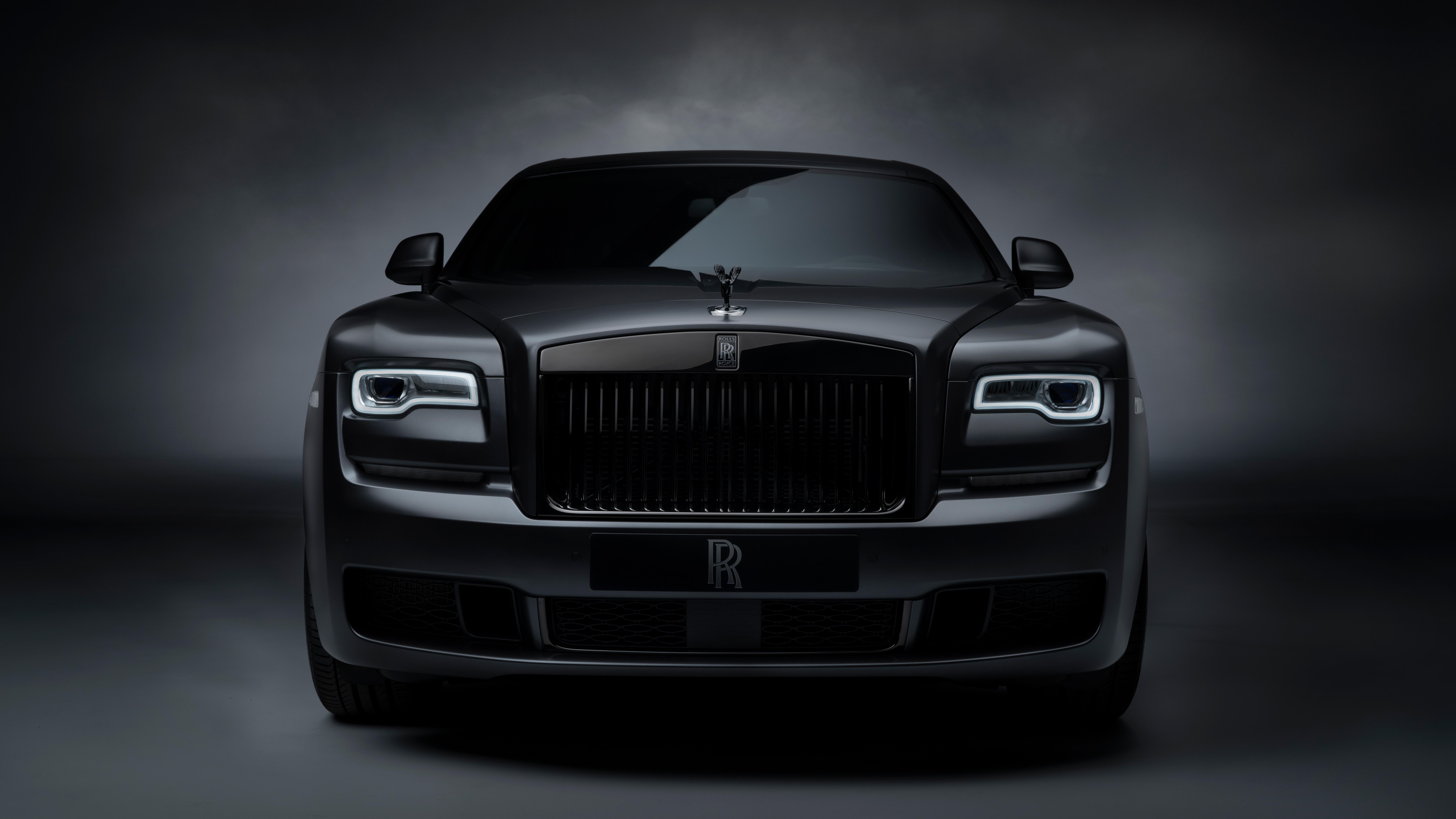 Rolls Royce Ghost Black Badge 2019 Front, HD Cars, 4k ...