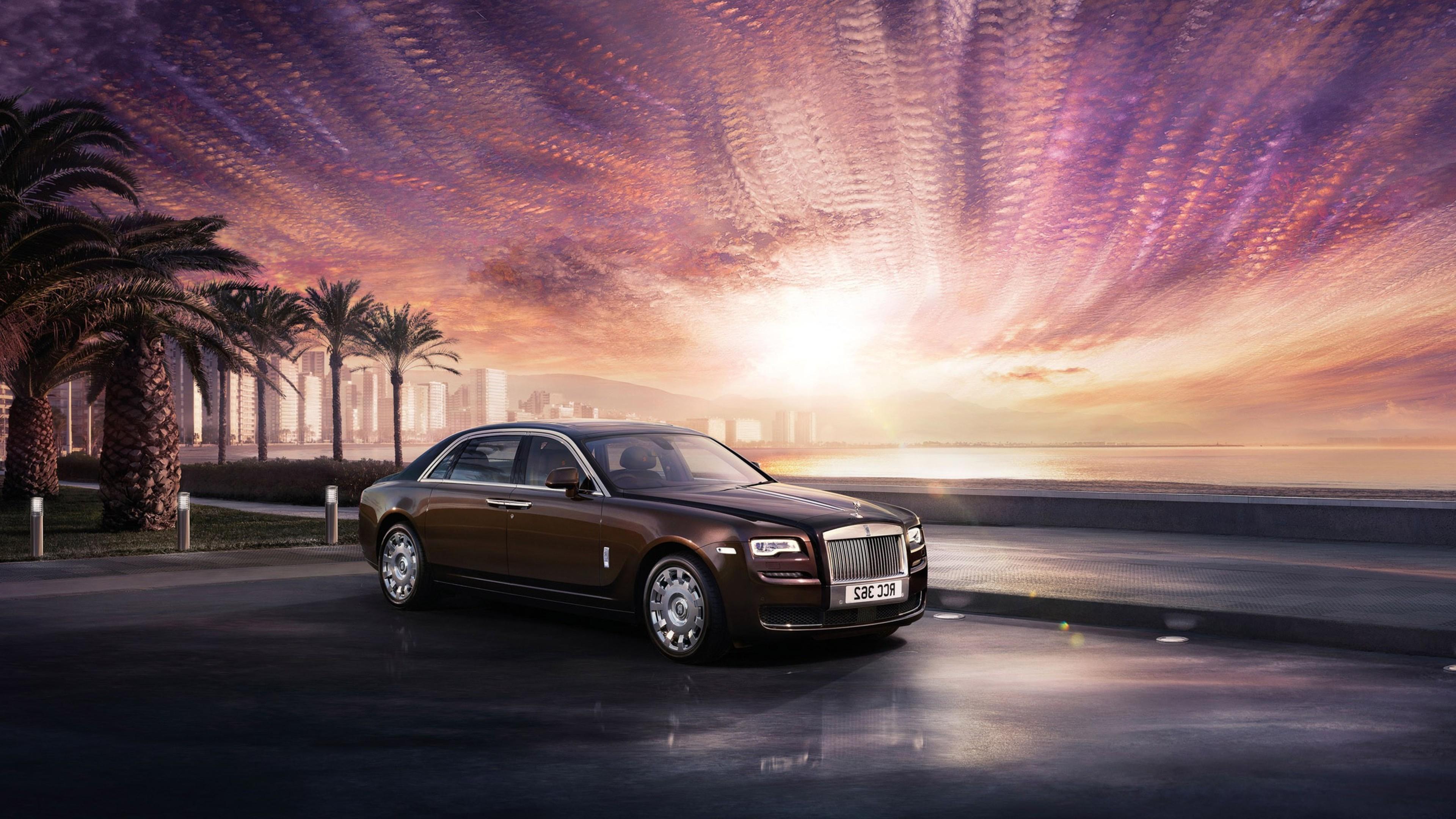 Rolls Royce Ghost Series 2016, HD Cars, 4k Wallpapers