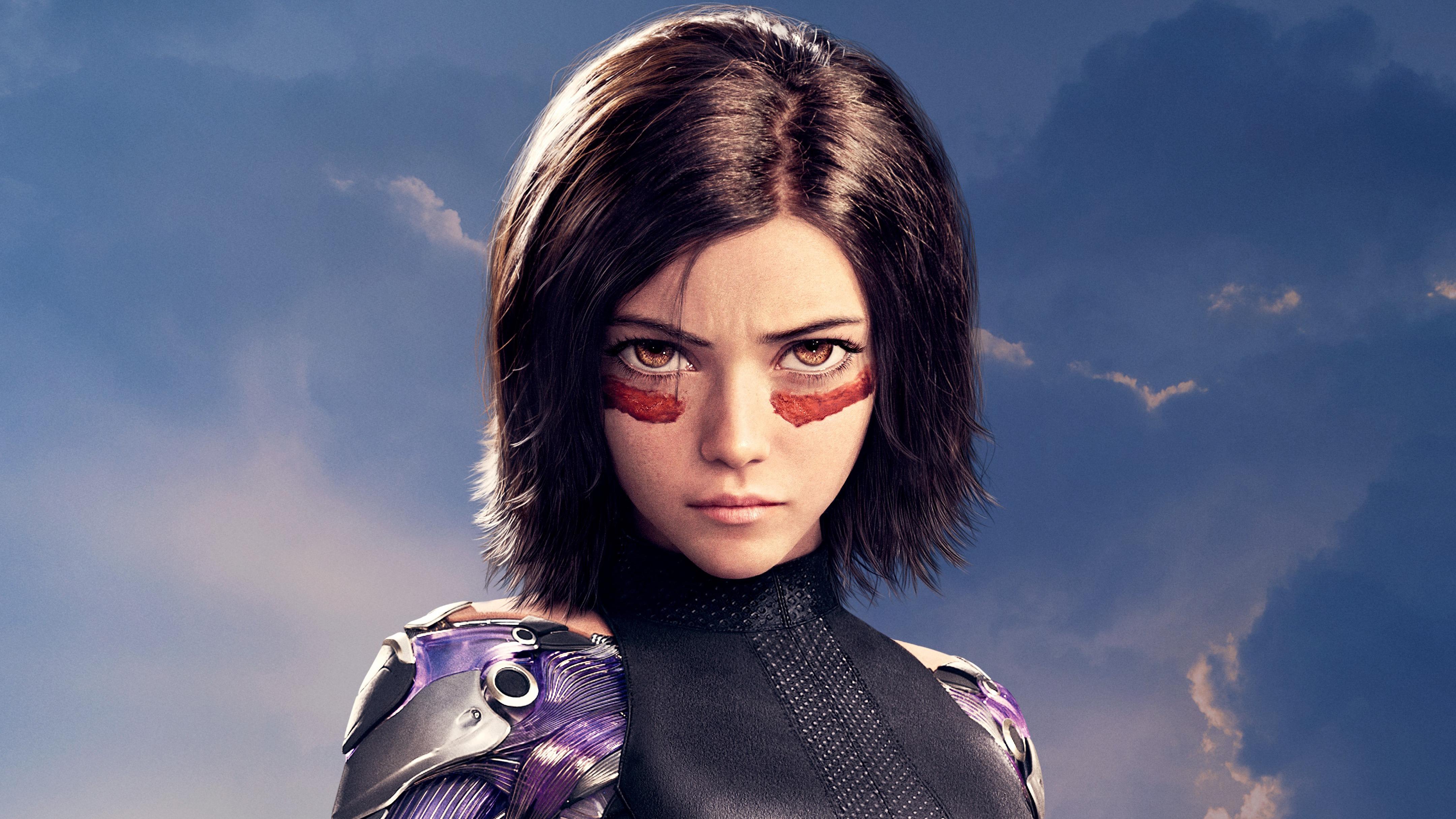 Rosa Salazar As Alita In Alita Battle Angel, HD Movies, 4k ...