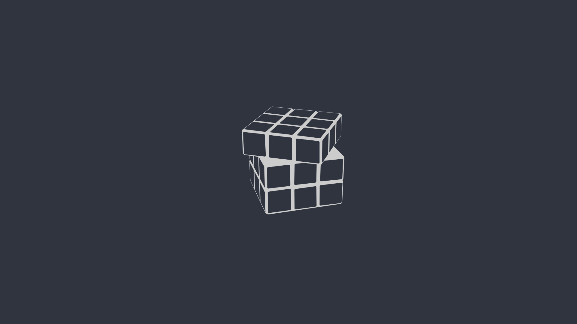 rubiks cube minimalism, hd artist, 4k wallpapers, images