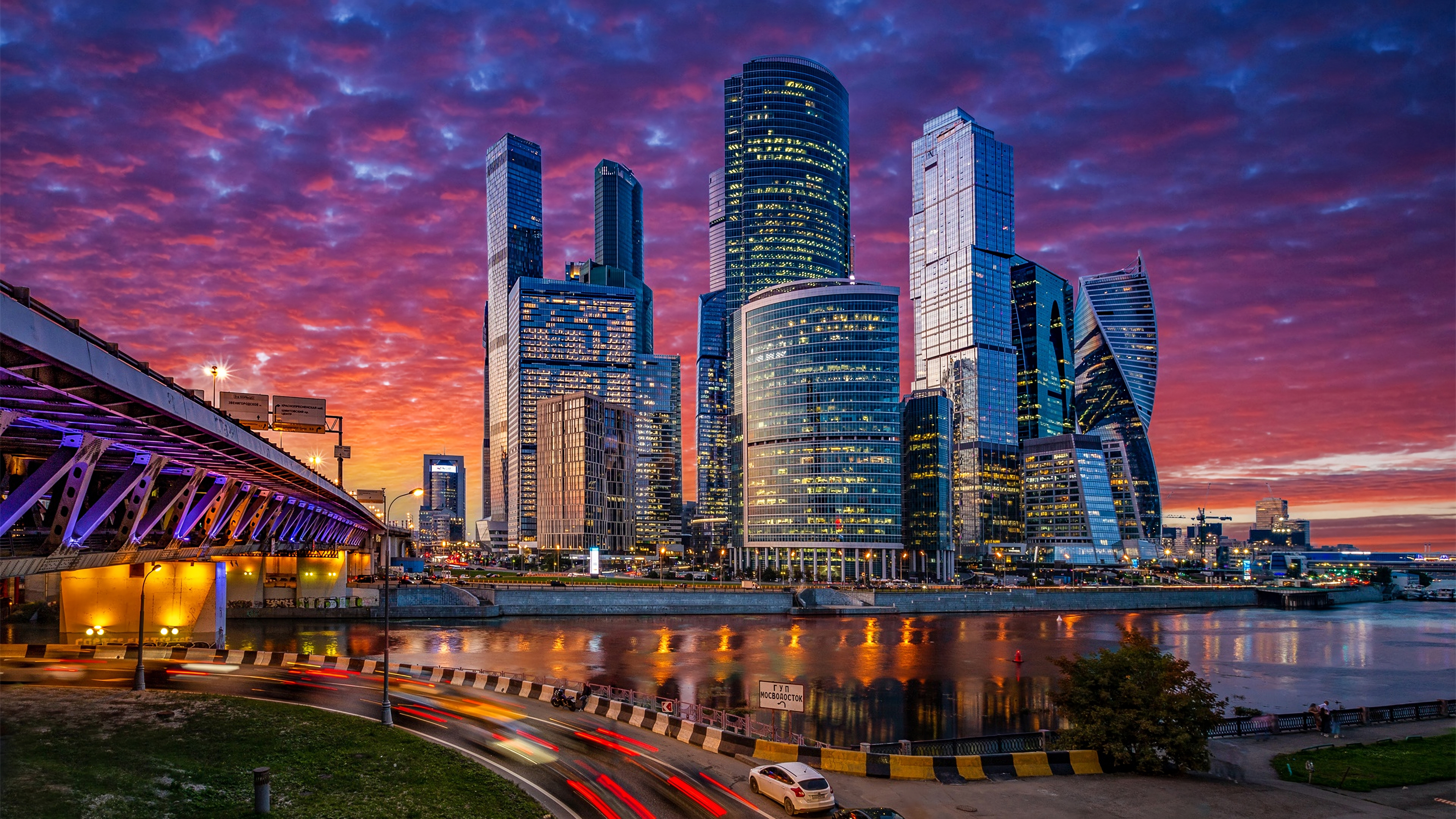 Russia moscow cityscape 4k hd world 4k wallpapers images backgrounds photos and pictures - 4k wallpaper russia ...