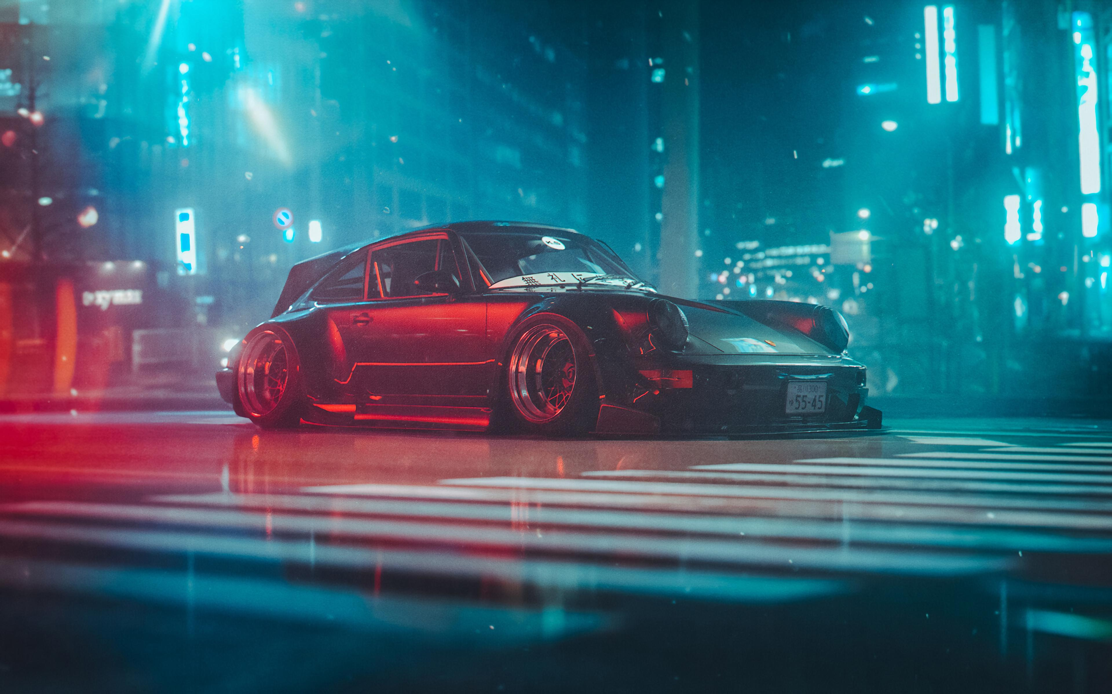 RWB 964 Wagon, HD Cars, 4k Wallpapers, Images, Backgrounds