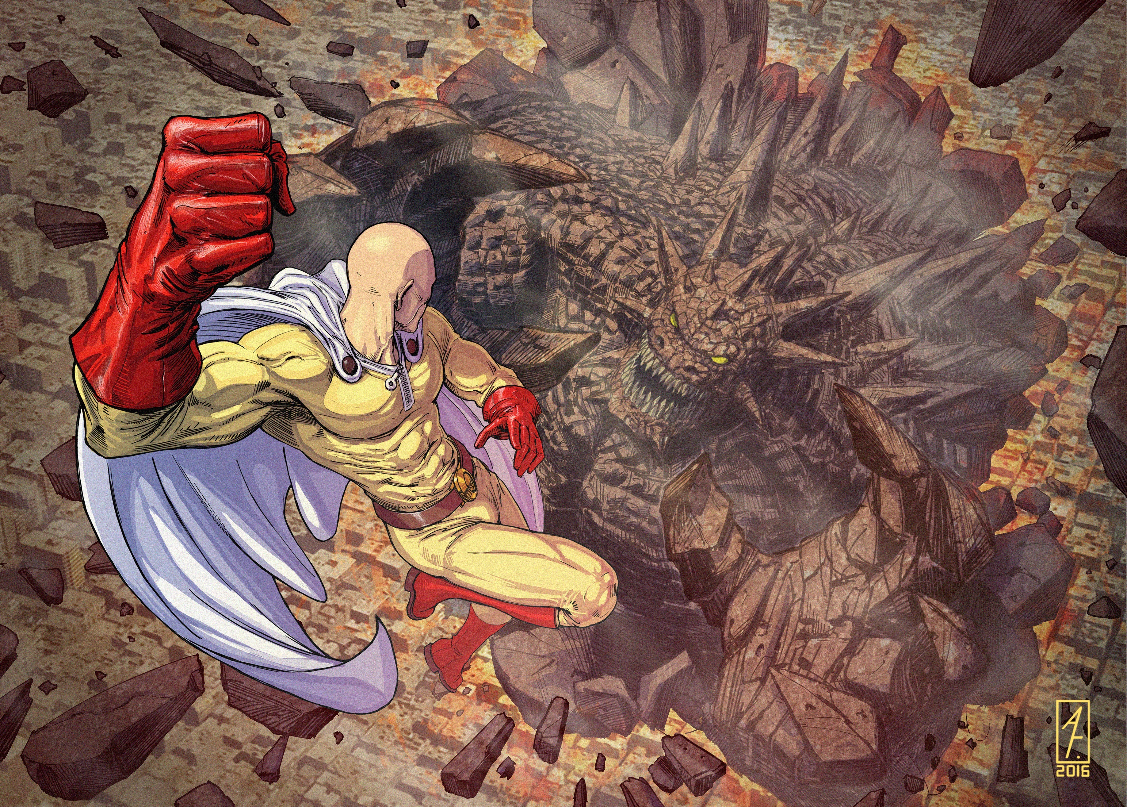 Saitama One Punch Man 4k, HD Anime, 4k Wallpapers, Images ...
