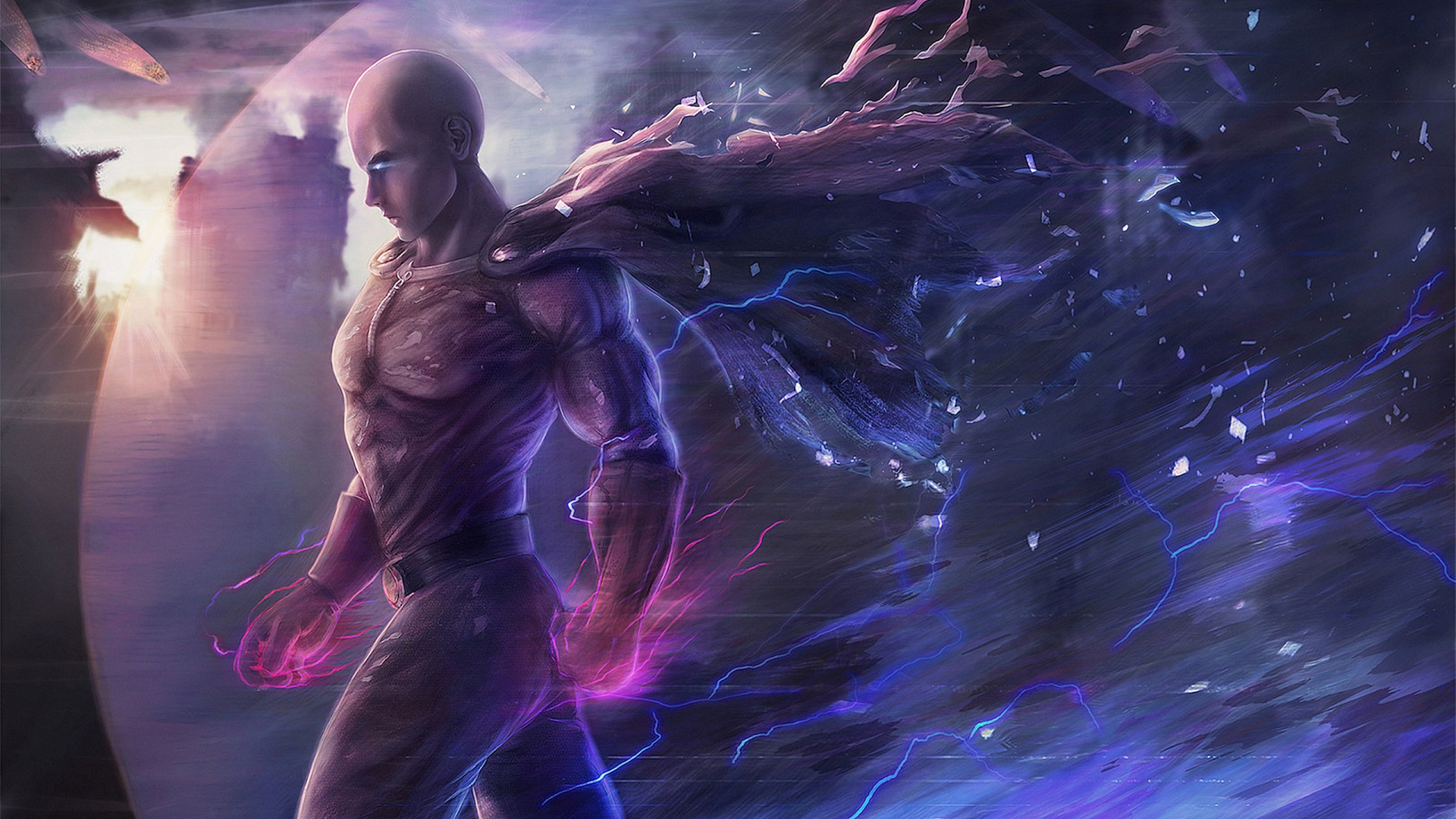 hd one punch man wallpaper