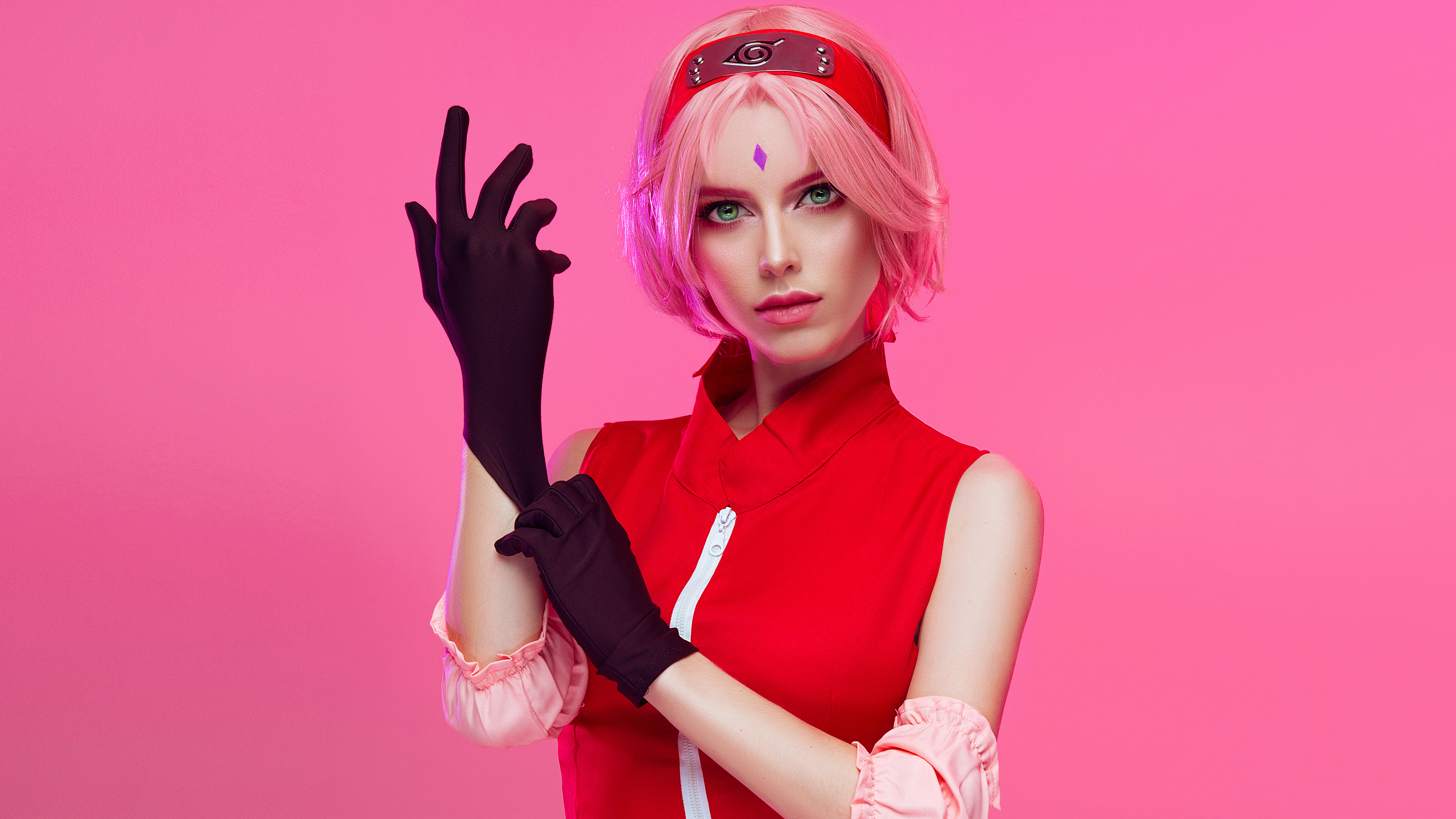 Sakura Haruno From Naruto Cosplay, HD Anime, 4k Wallpapers, Images