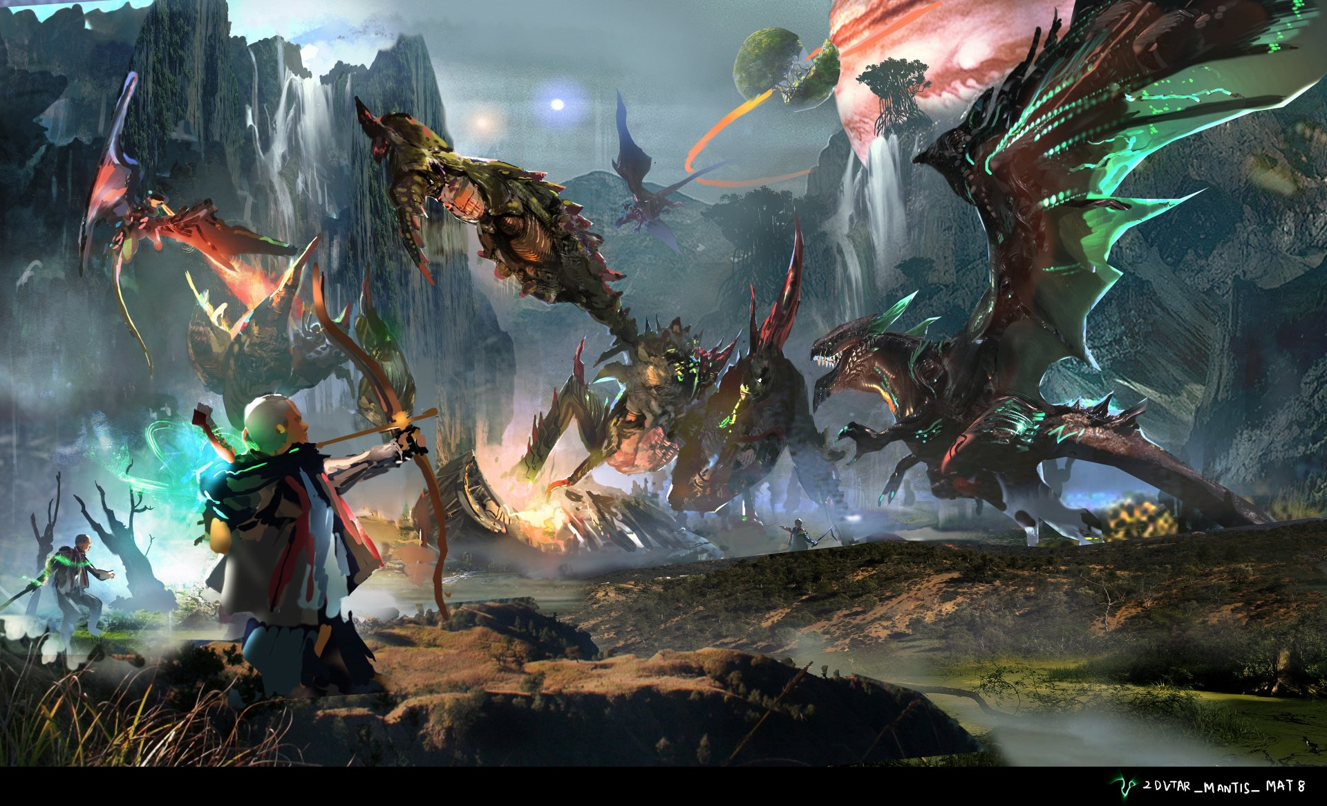 Scalebound Game Play