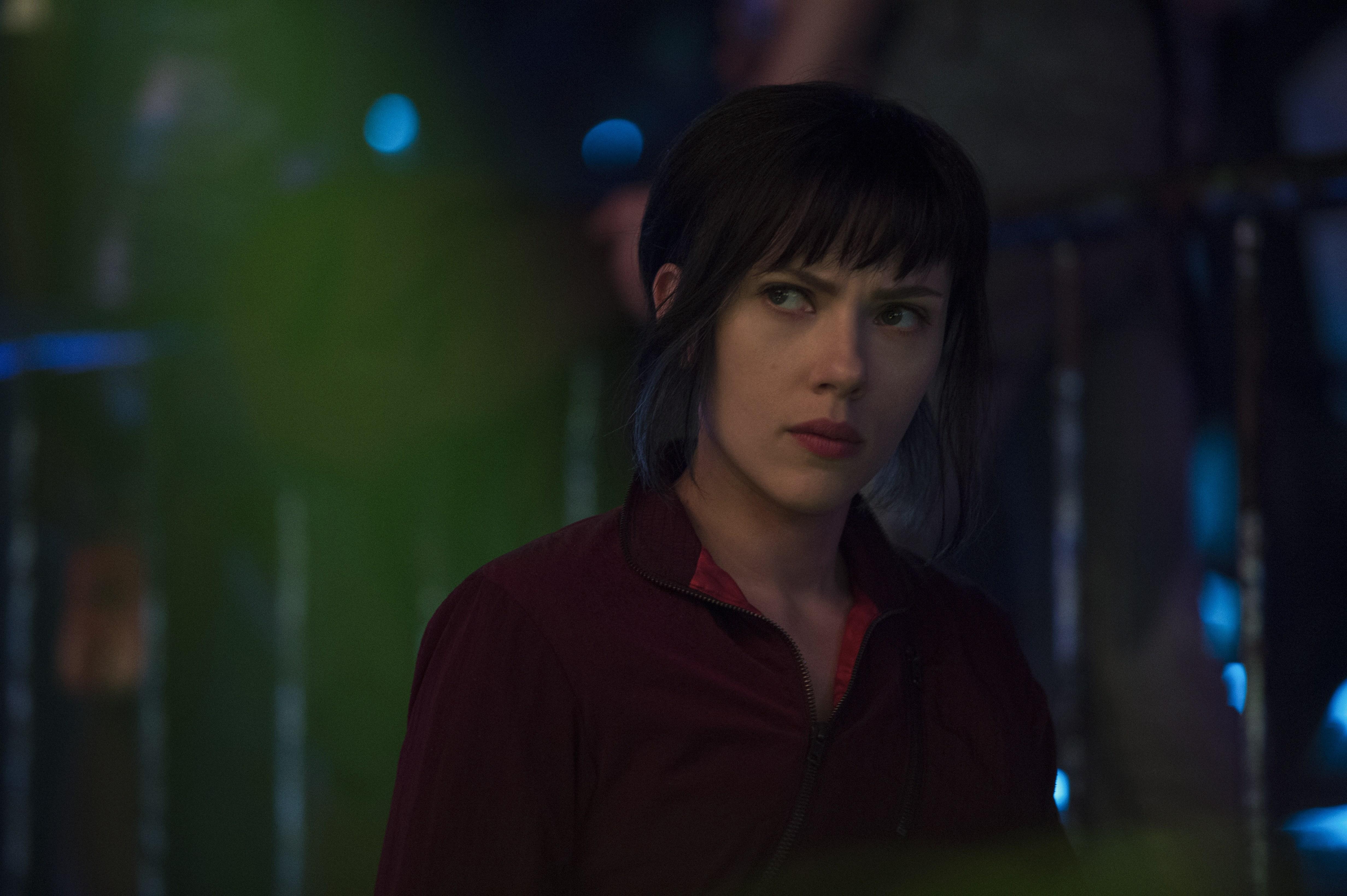 Scarlett Johansson As Major Ghost In Shell 2017, HD Movies