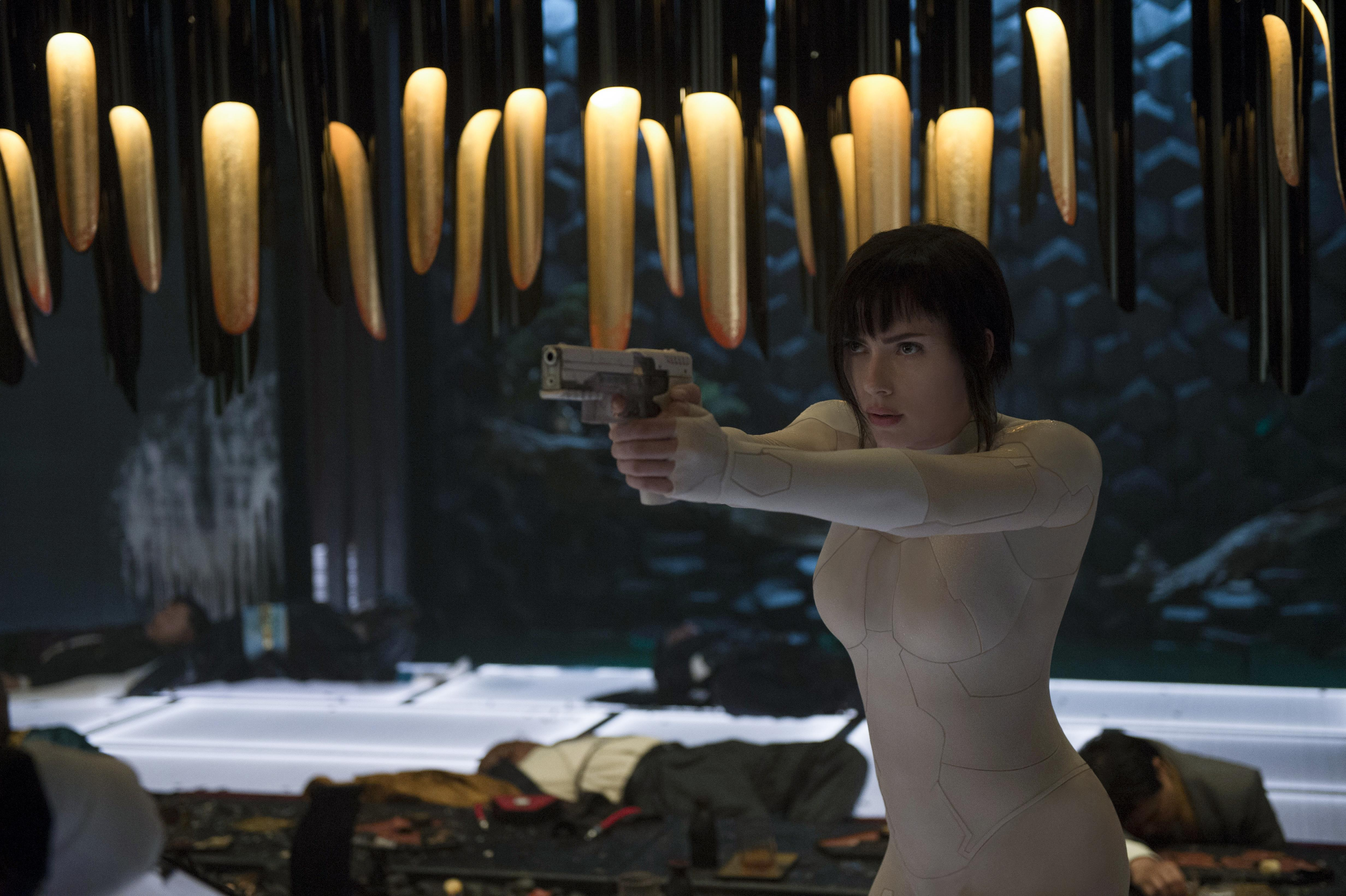 Scarlett Johansson Ghost In The Shell 2017 Movie, HD