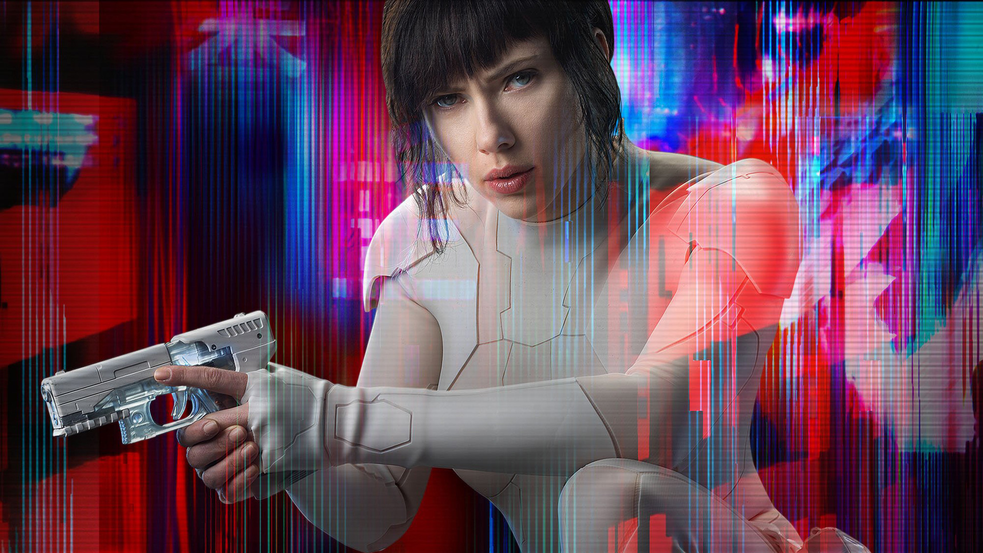 Scarlett Johansson Ghost In The Shell, HD Movies, 4k