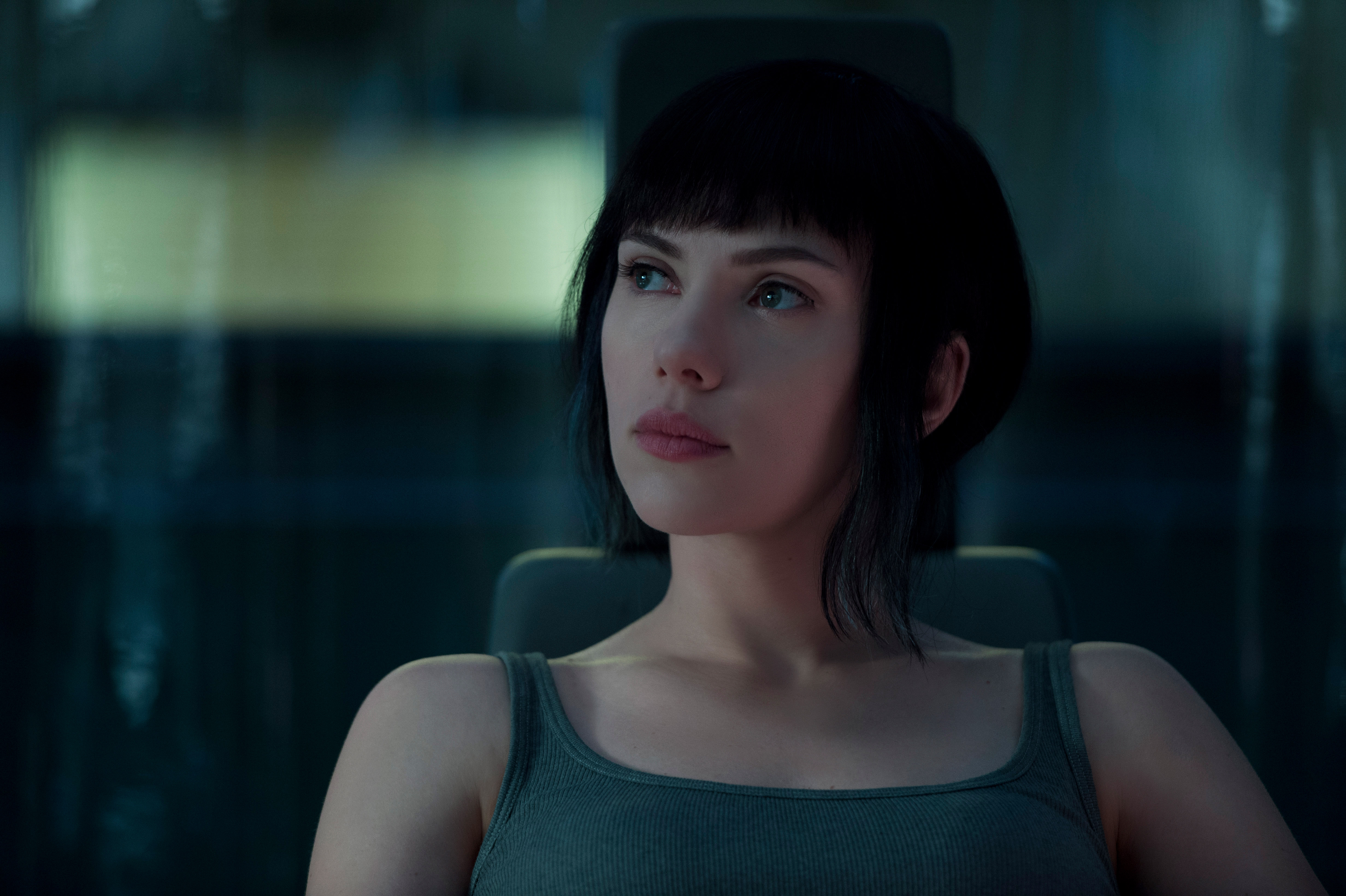 Scarlett Johansson In Ghost In The Shell 2017, HD Movies