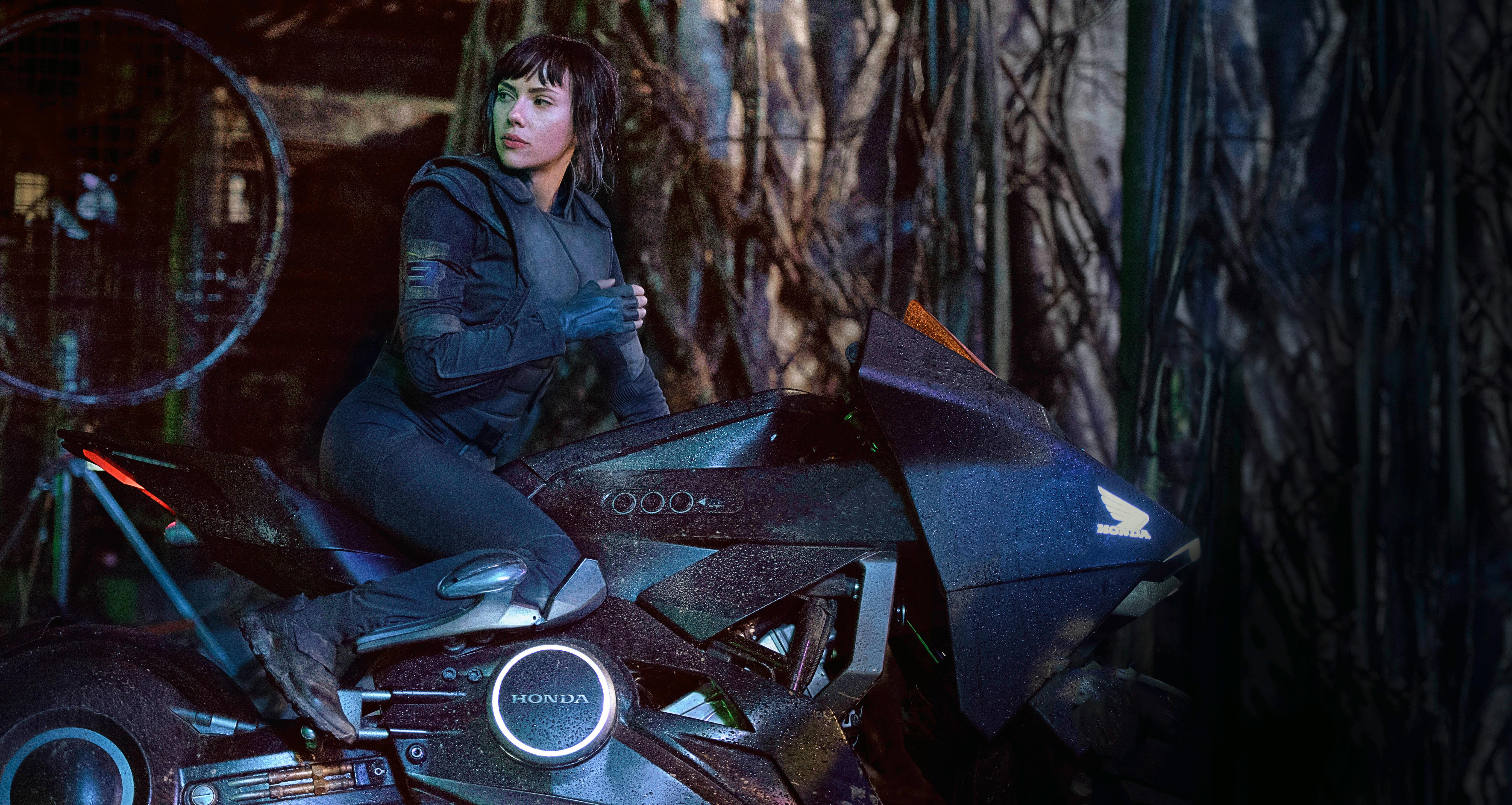 Scarlett Johansson In Ghost In The Shell 5k, HD Movies, 4k