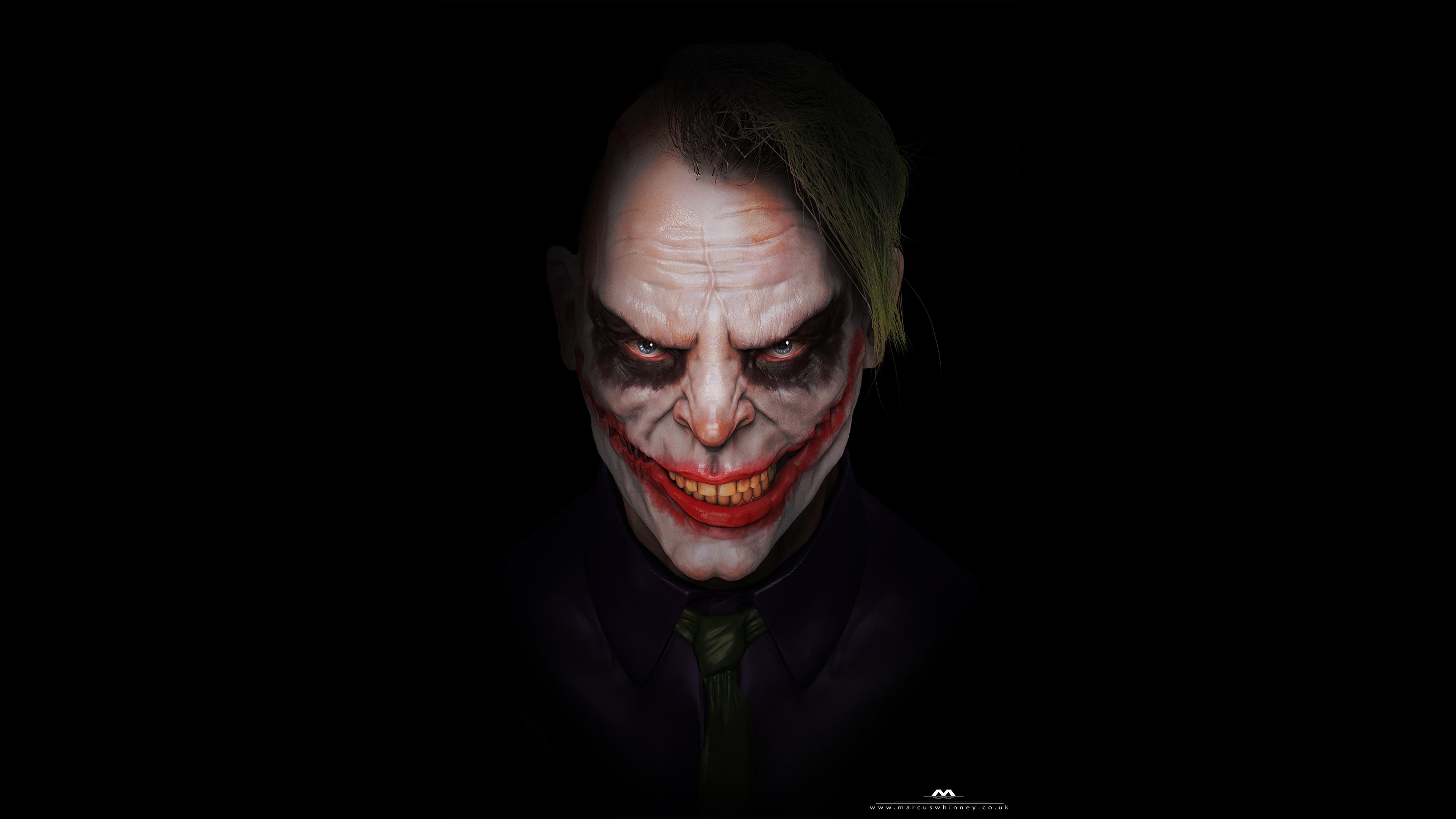 Scary Joker 4k Hd Superheroes 4k Wallpapers Images Backgrounds