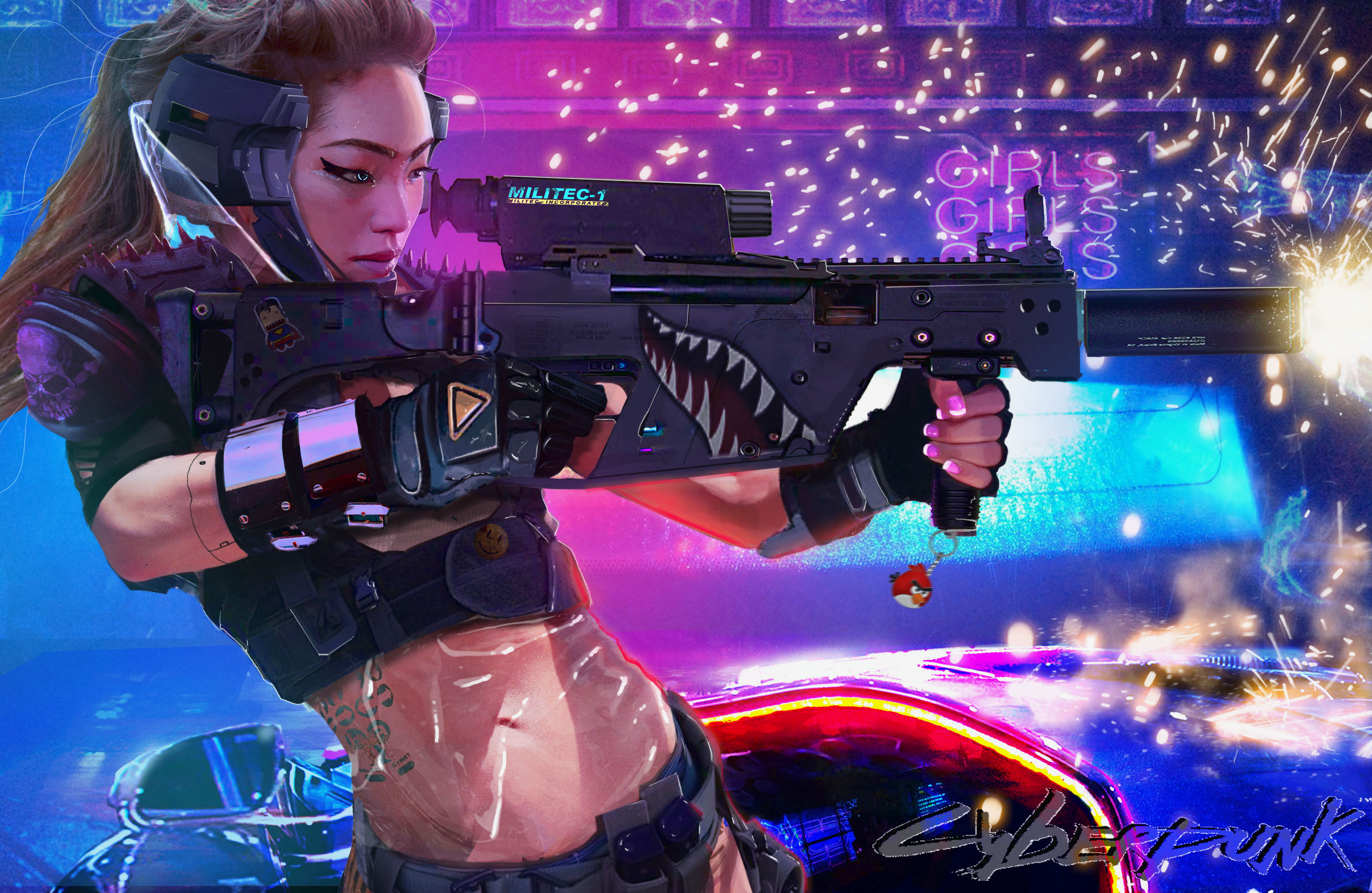 Ichiko Harada - 407-2 Science-fiction-cyberpunk-xp