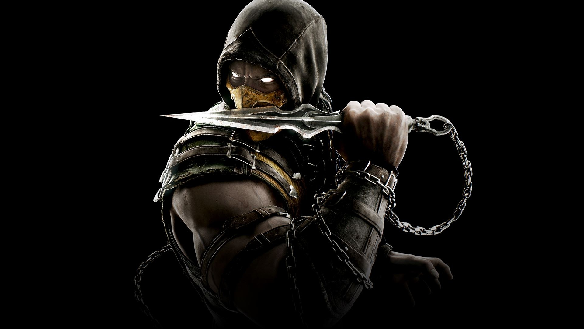 scorpion mortal kombat, hd games, 4k wallpapers, images, backgrounds