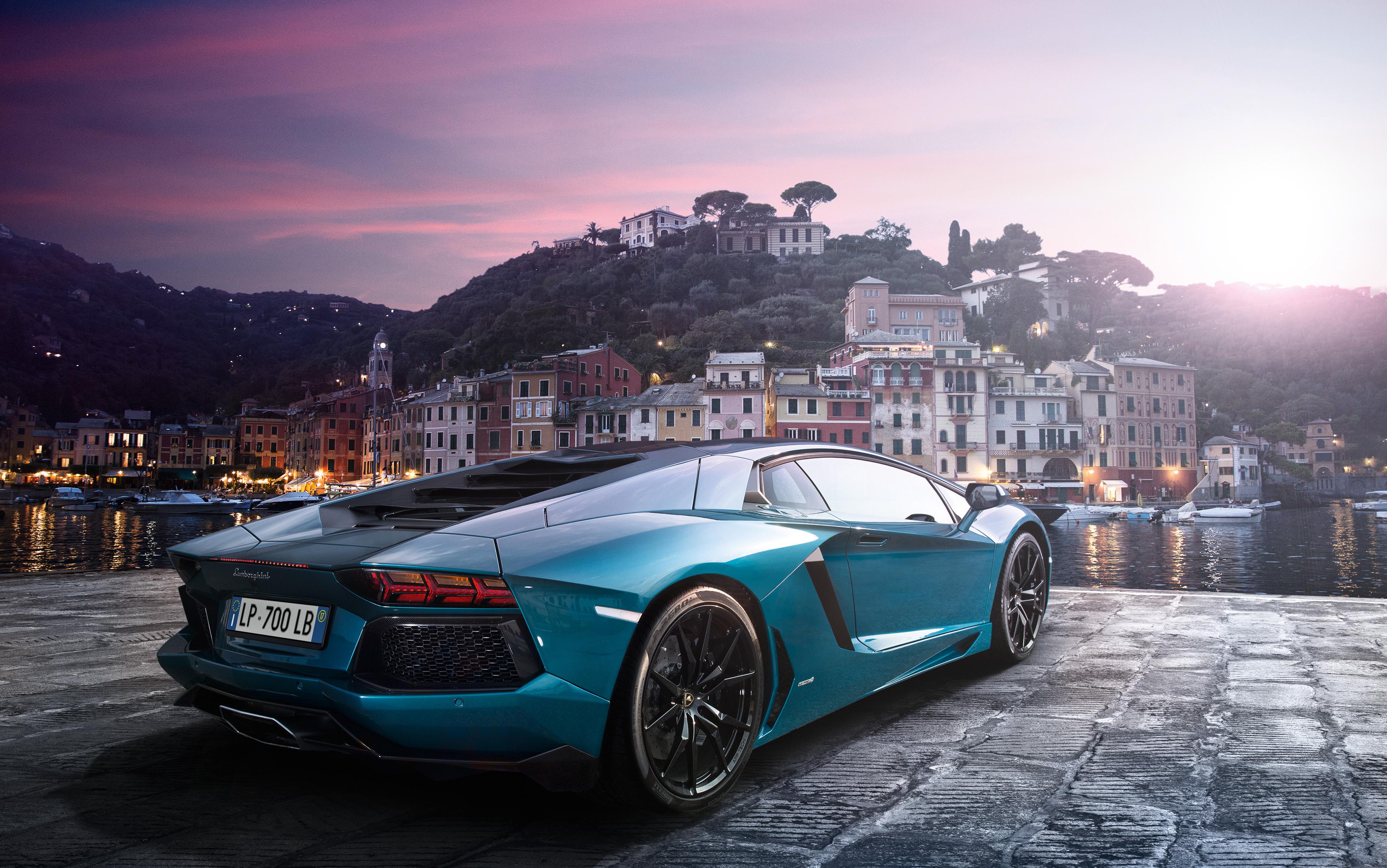 Lamborghini Aventador Green 4k Hd Cars 4k Wallpapers: Sea Green Lamborghini Aventador 4k, HD Cars, 4k Wallpapers