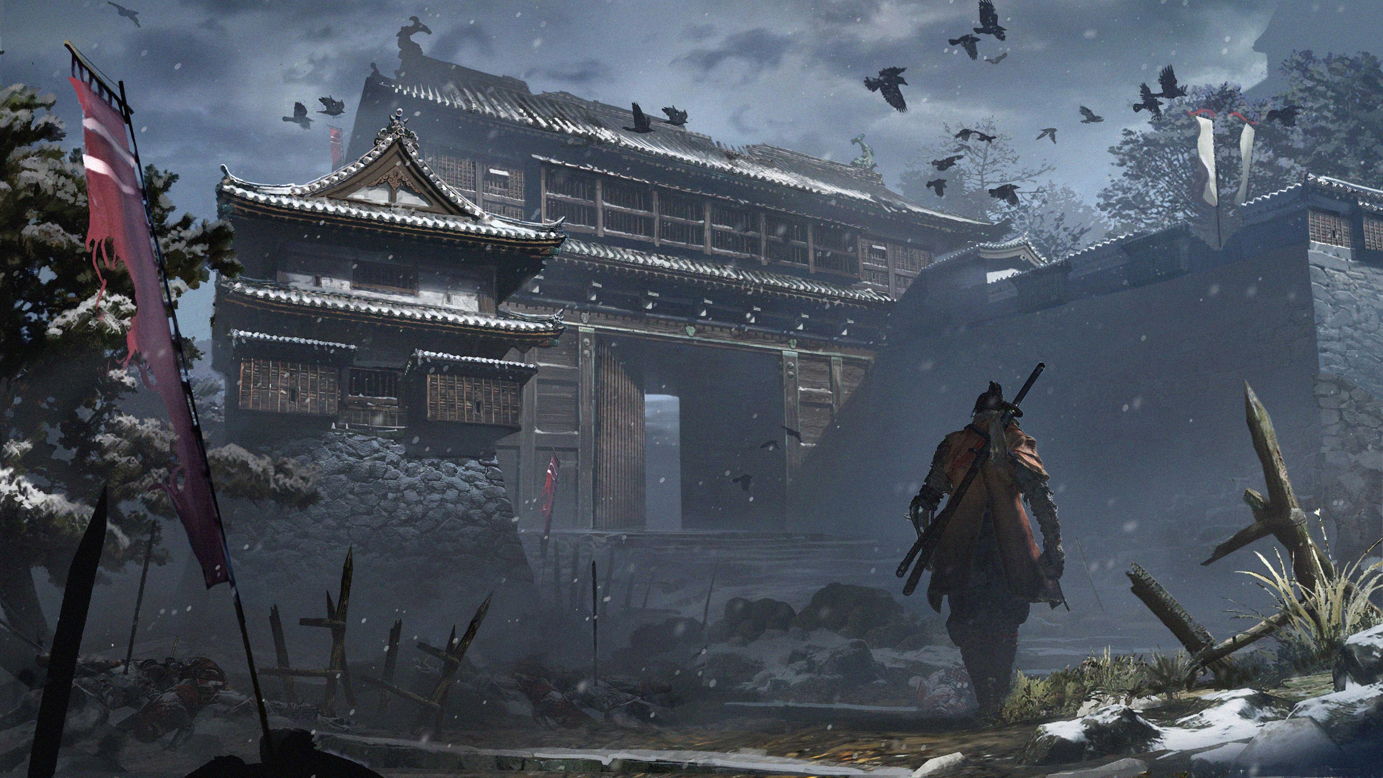 Sekiro Shadows Die Twice Game Official Artwork 5k Hd Games 4k