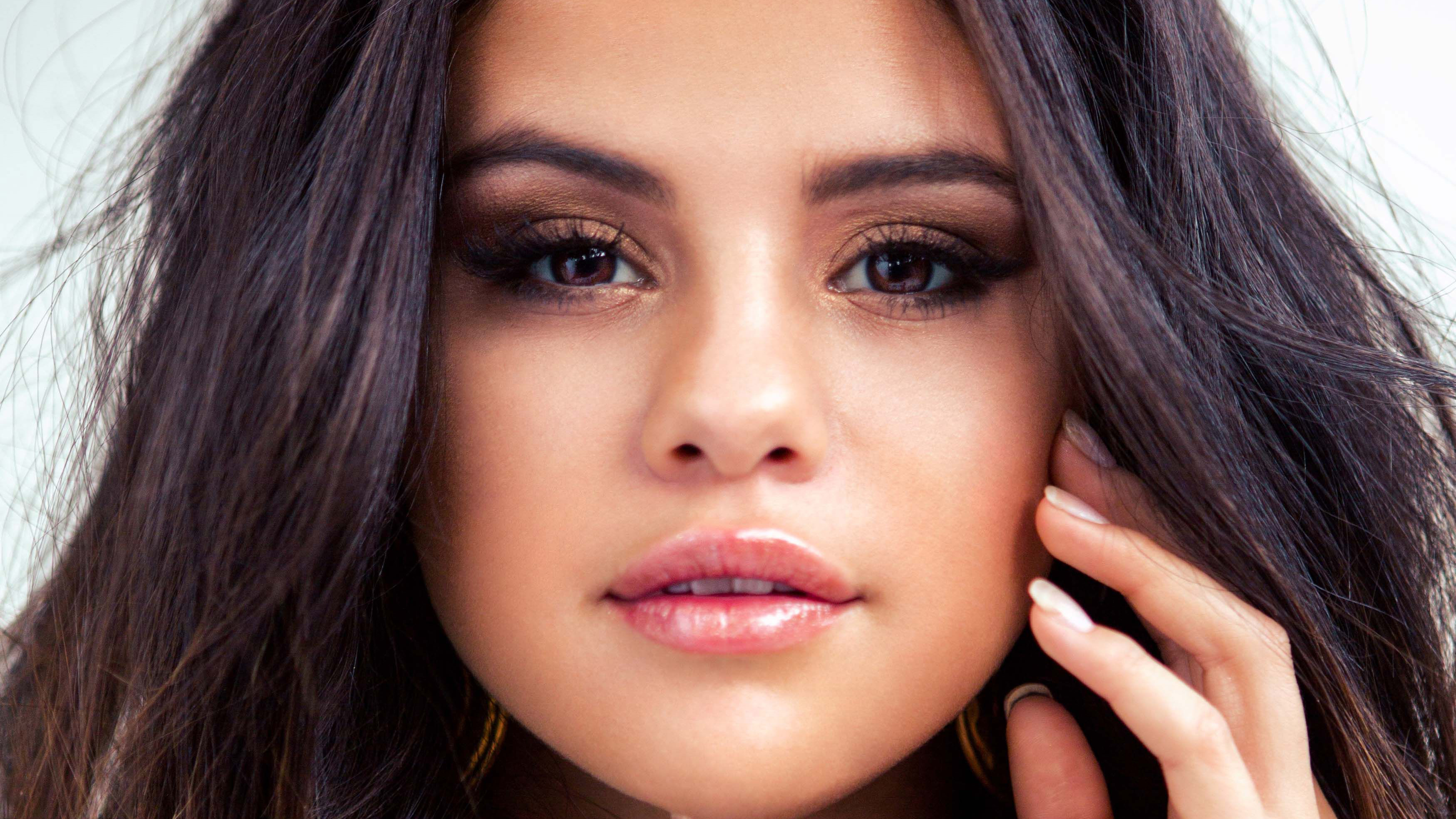 Selena Gomez Face Portrait 4k, HD Music, 4k Wallpapers ...