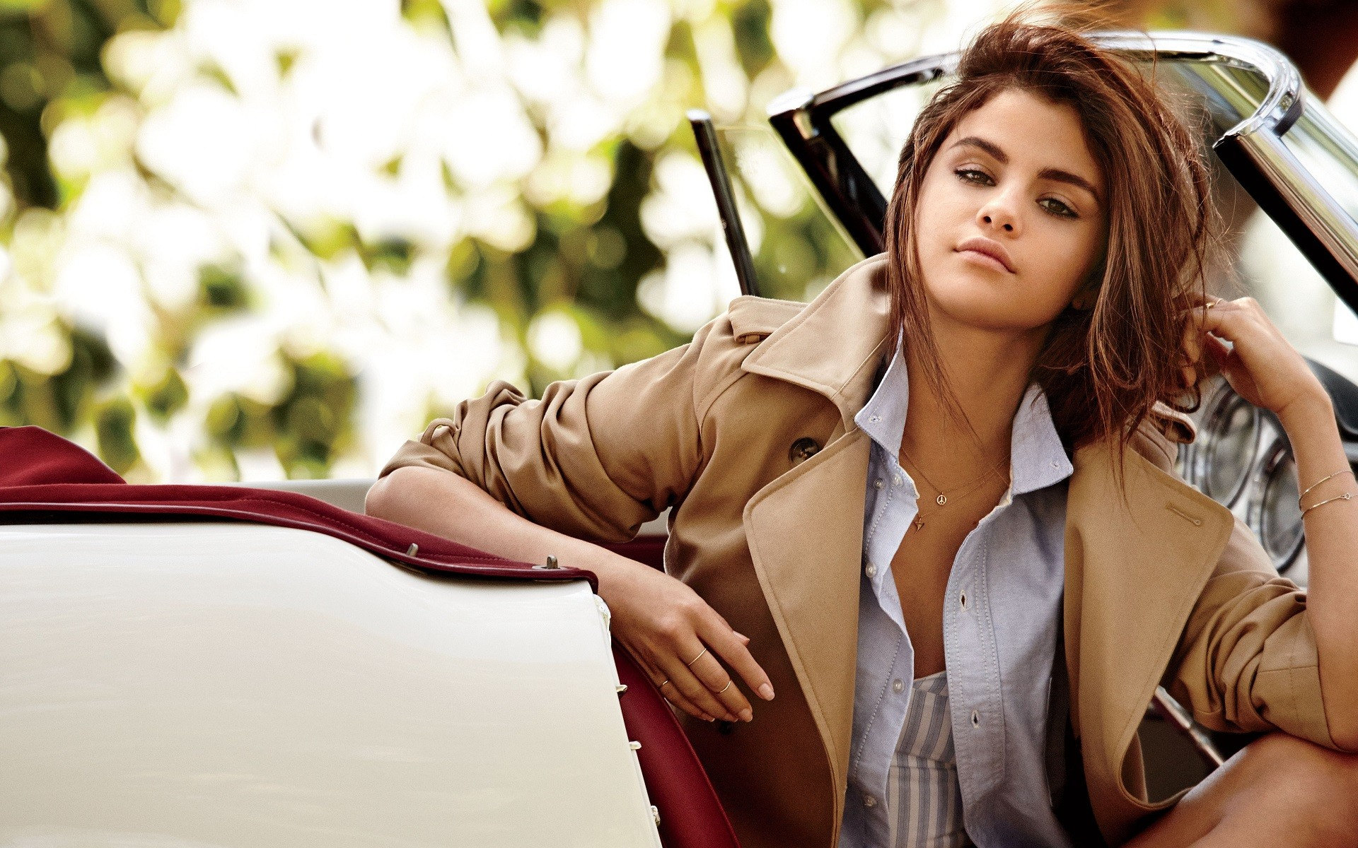 selena gomez with cars, hd celebrities, 4k wallpapers, images